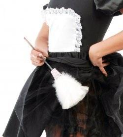 Feather Duster for Tart Maid Fancy Dress Accessory