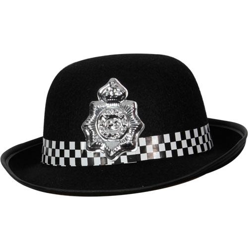 Wpc Hat for Female Police Officer Cop Juliet Bravo Fancy Dress