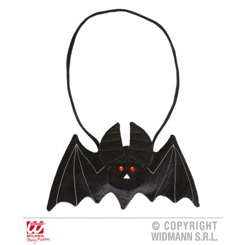 BAT HANDBAG Accessory for Vampire Dracula Fancy Dress