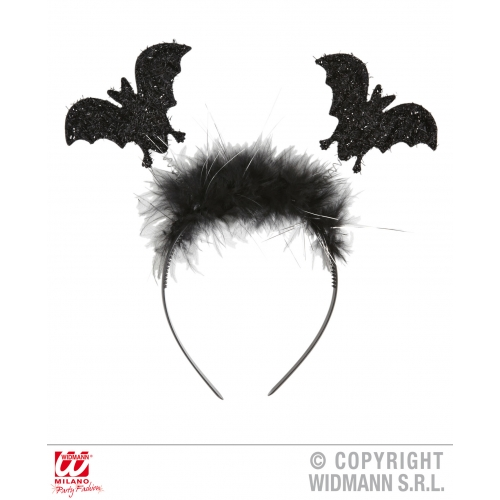 BAT HEAD BOPPER Accessory for Vampire Dracula Fancy Dress