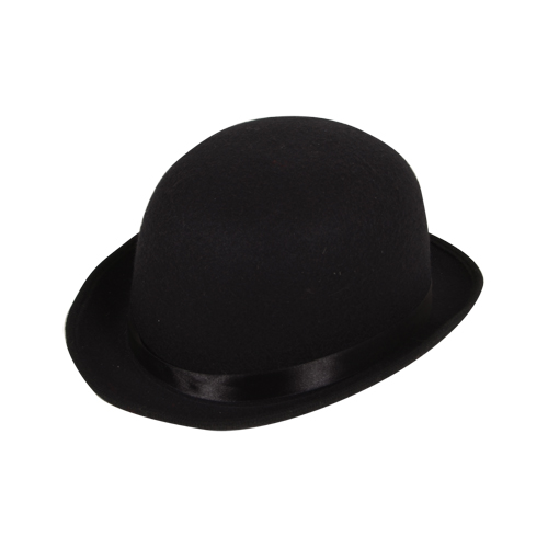 Bowler Hat ( High Quality Indestructable) for Laurel Hardy Victorian Fancy Dress