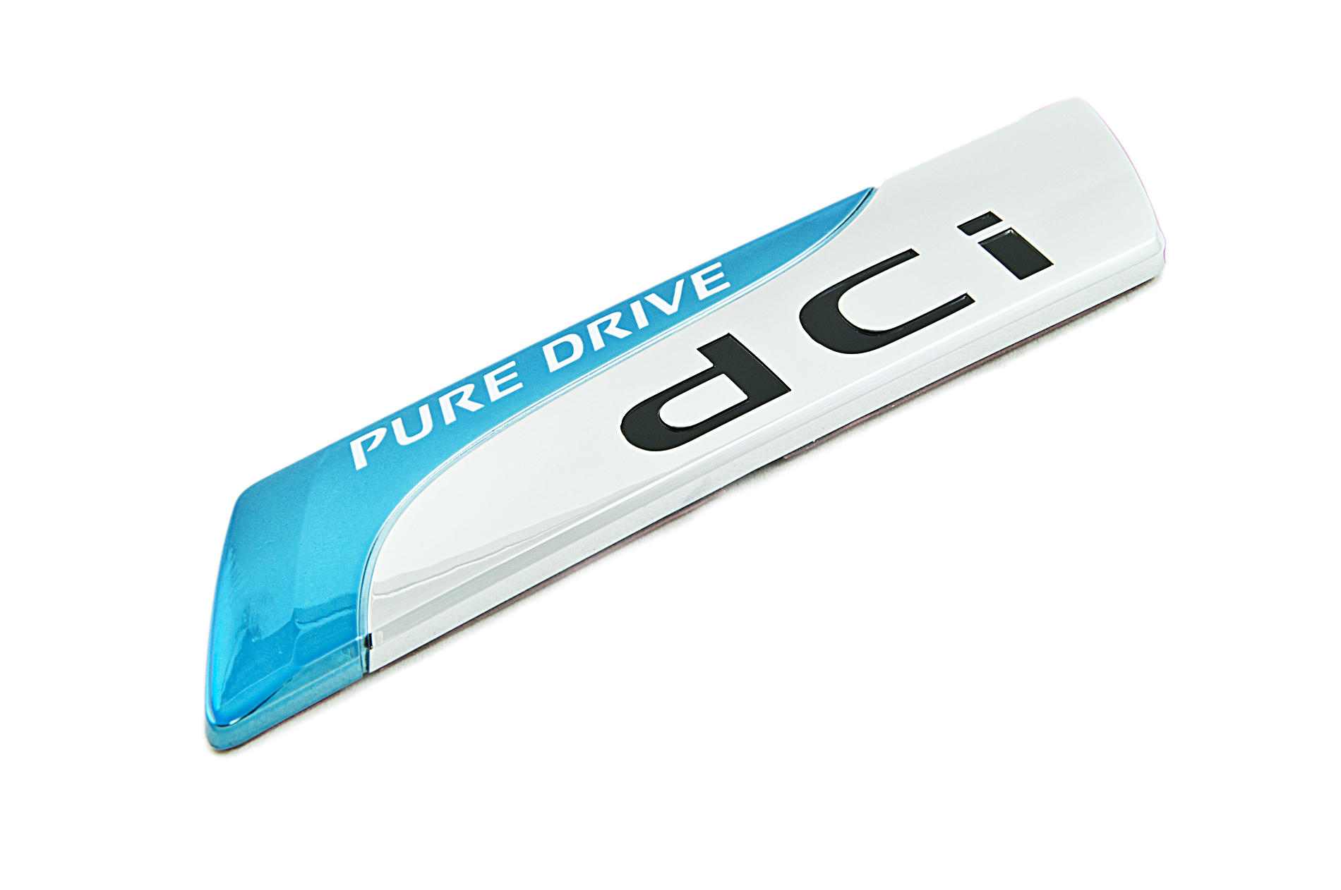 """Nissan Genuine """"PURE DRIVE dCi"""" Badge Emblem Rear For Boot Trunk"""