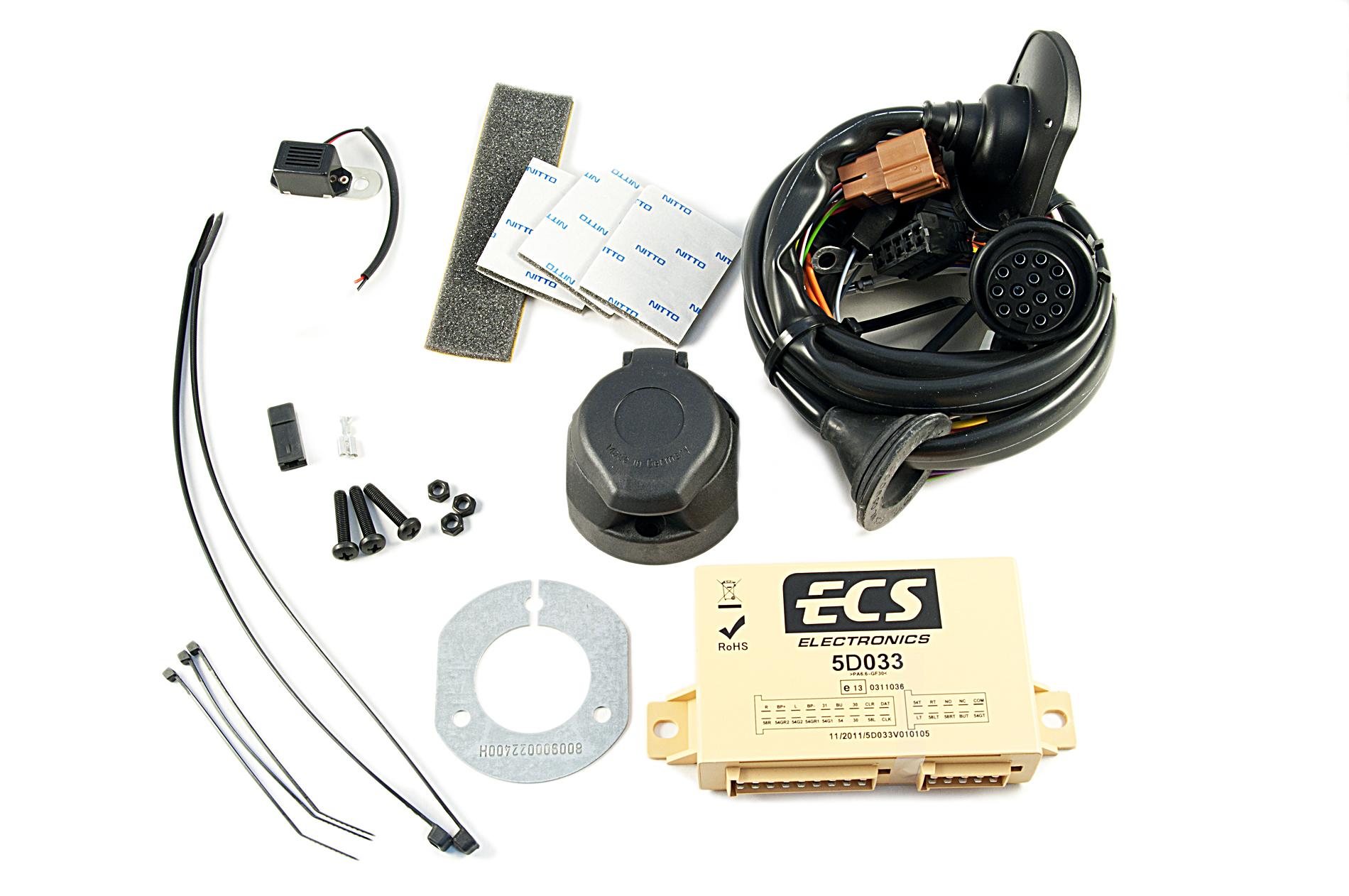 Nissan Genuine 13 Pin Electrical Kit Wiring For Towbar Hitch Diagram Ke505jg213 Ebay