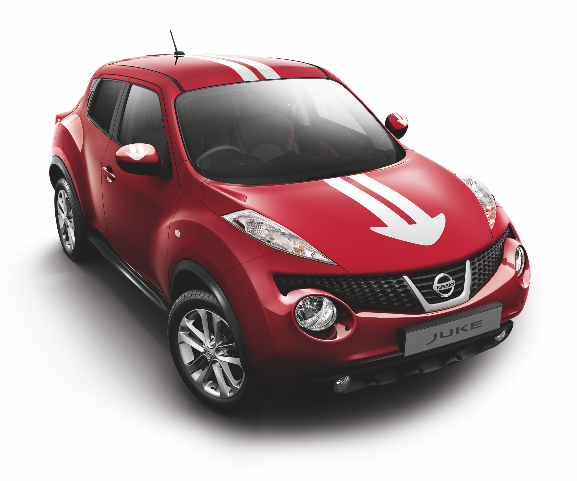 Nissan Genuine Juke F15 Urban Style Stripes Decal Bonnet