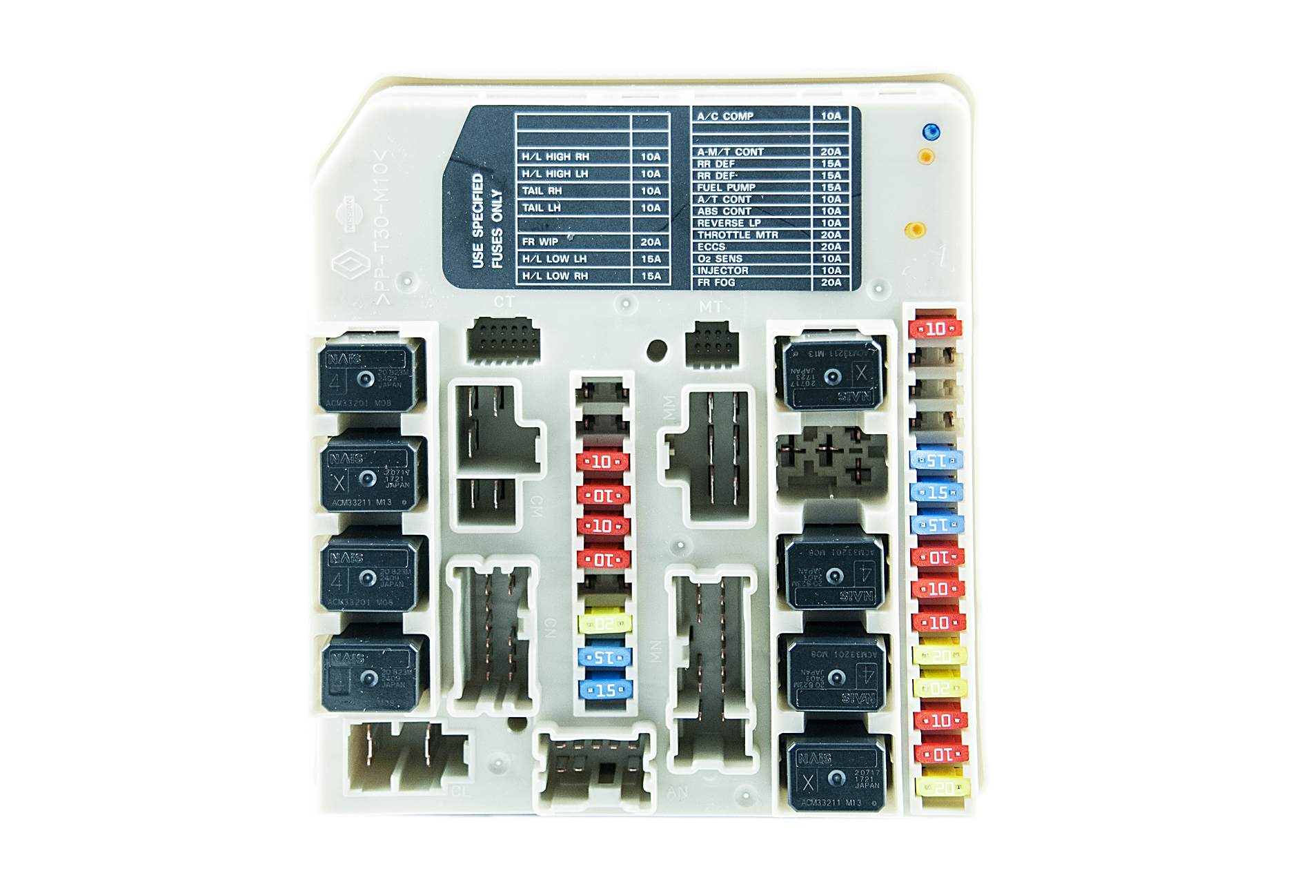 284B7AX61Aa nissan genuine micra note ipdm power distribution module nissan note fuse box layout at eliteediting.co