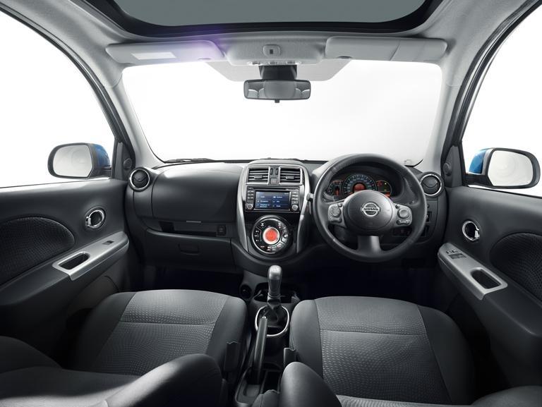 5x Nissan Genuine Micra K13 MC Interior Inserts Dash Trims - Chrome ...