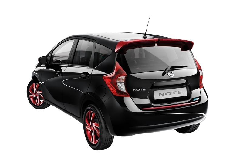 Nissan Genuine Note E12 Car Roof Spoiler Stylish Red Nah
