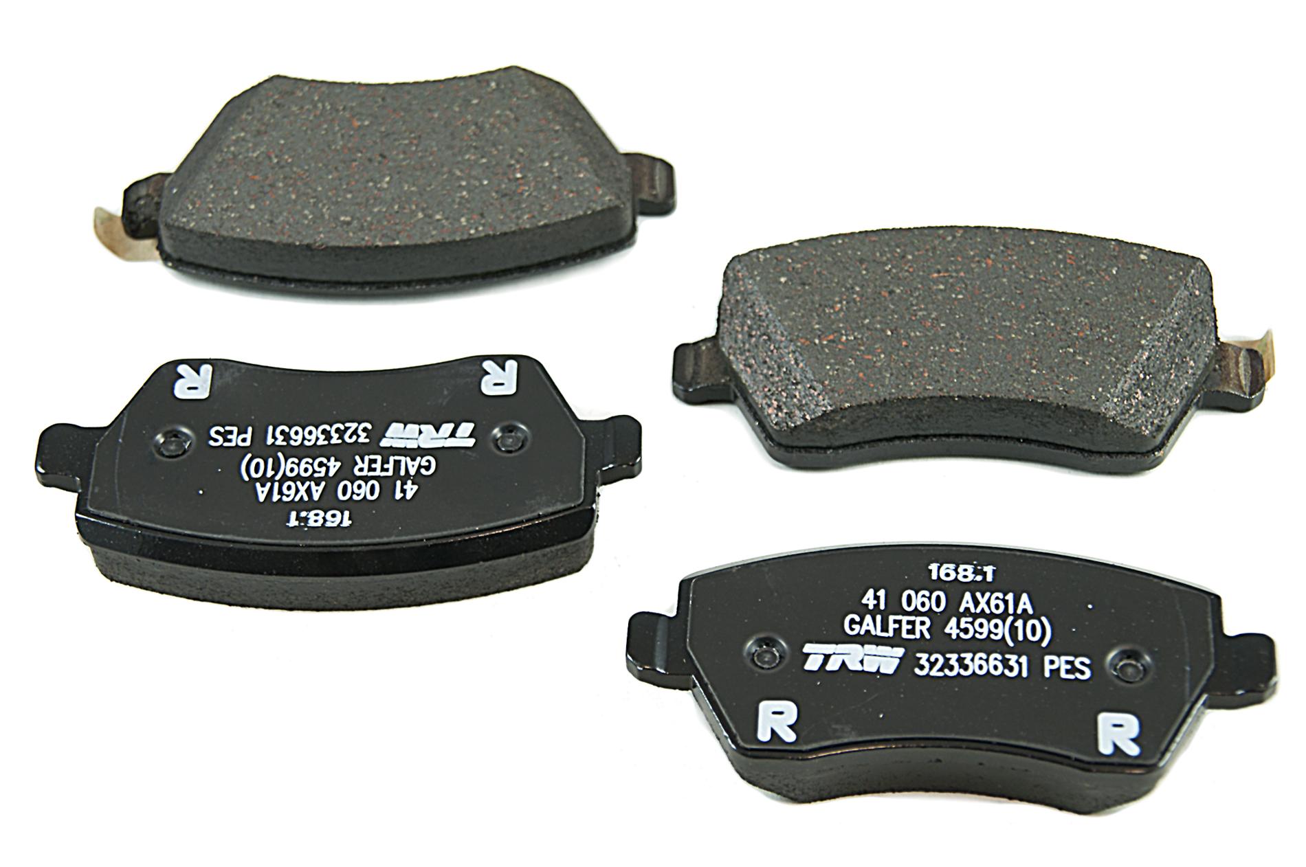 4x Nissan Genuine Micra Note Car Front Brake Pads Oem
