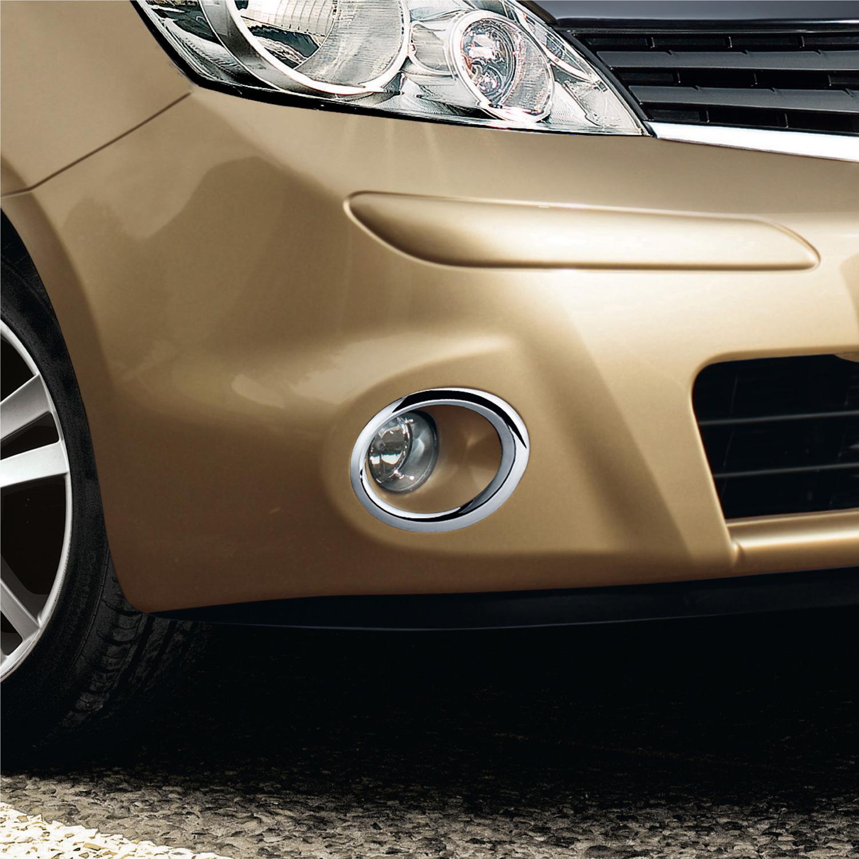 Nissan Genuine Note Front Fog Lamp Light Chrome Rings Car 2x Fuse Box Cover Ke540bh080