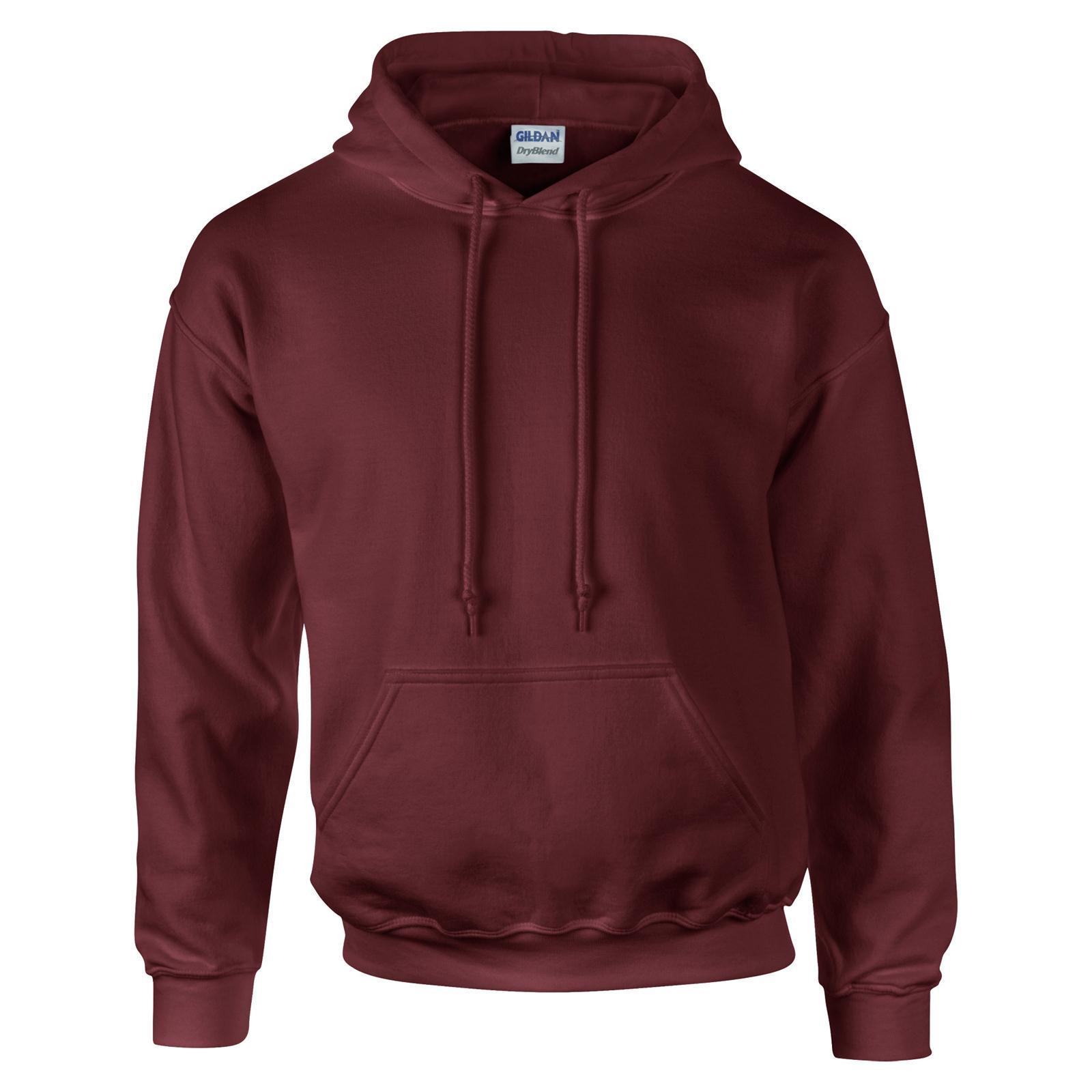 0d0ab1c71 GILDAN Unisex Adults Dry Blend Hoodie Hooded Sweatshirt 14 Colours ...