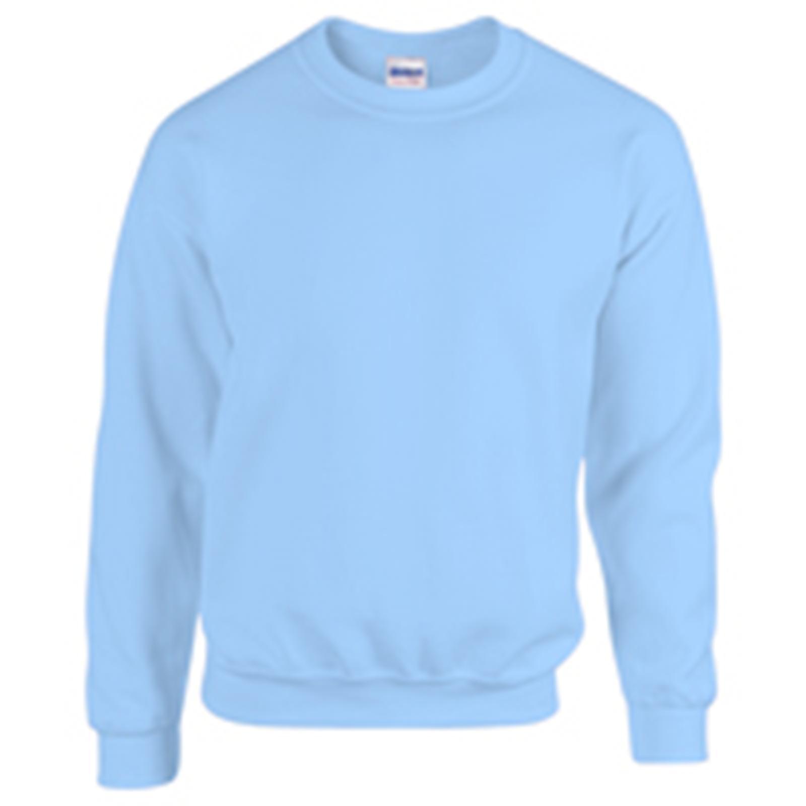 14ed538ee124 New GILDAN Unisex Adults Heavy Blend Crew Neck Sweatshirt in 30 ...
