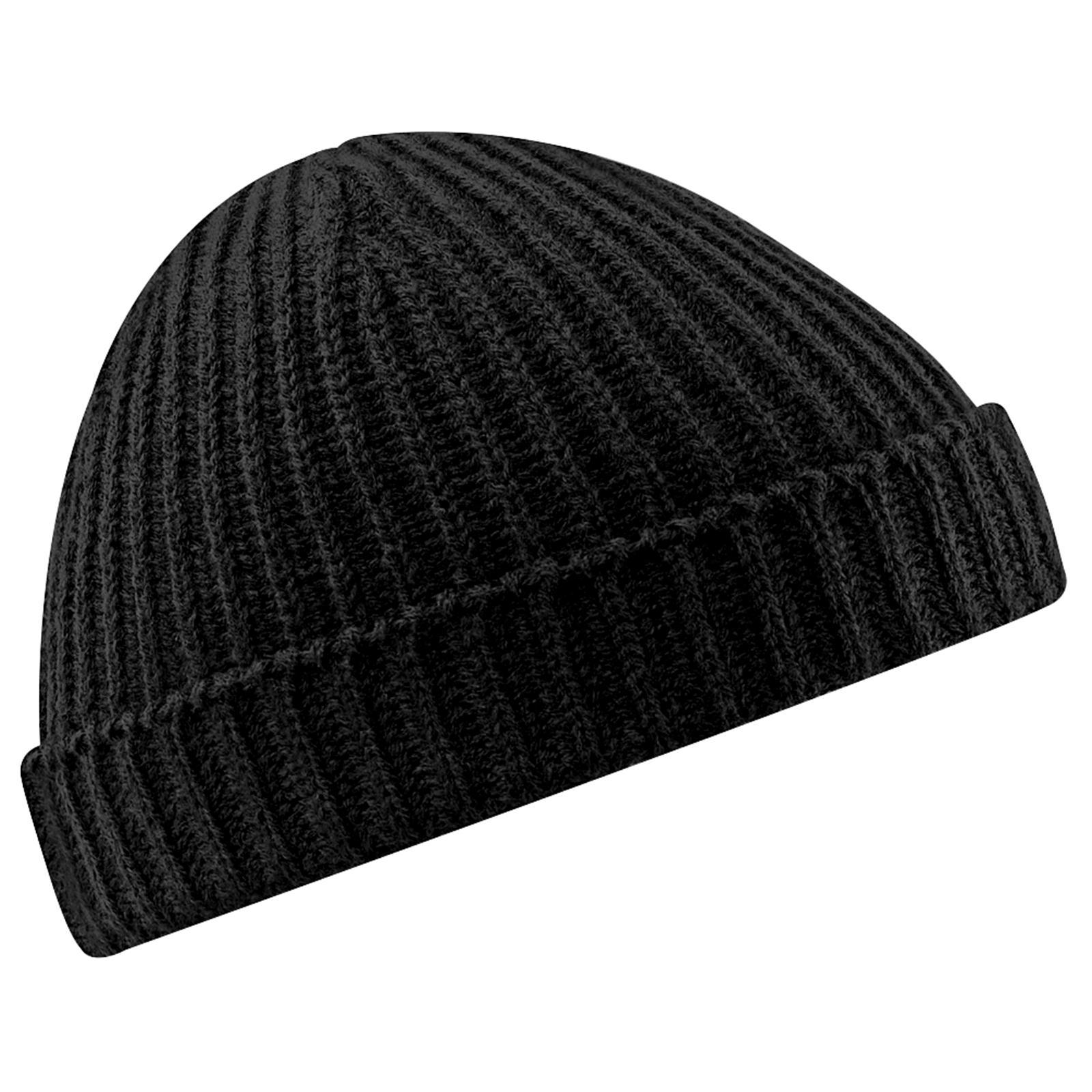 New-BEECHFIELD-Unisex-Retro-Fashion-Fisherman-Trawler-Knit-Beanie-Hat-6-Colours