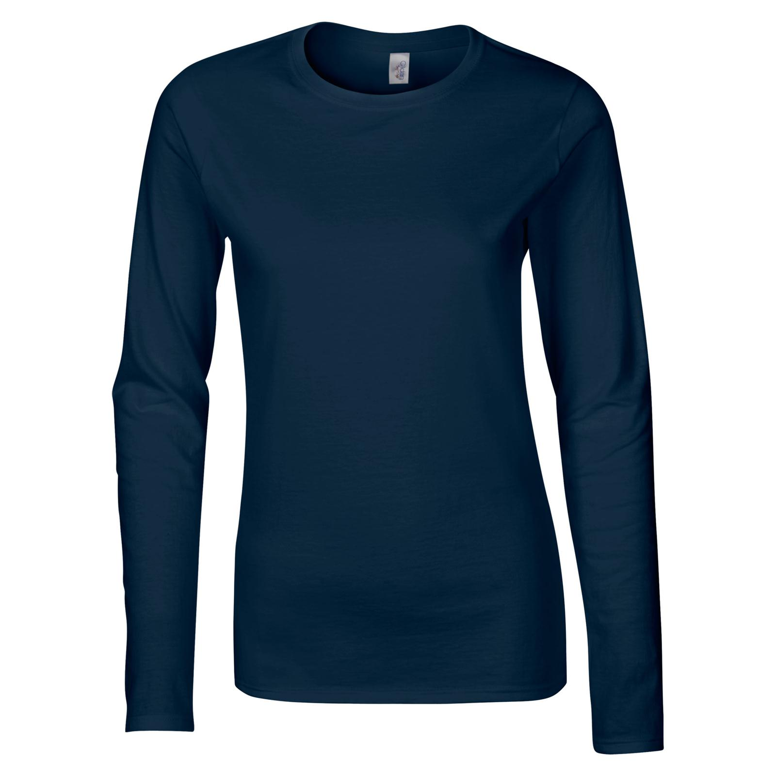 92de60d02452d ... Ladies Soft Style Cotton Long Sleeve T Shirt in 8 Colours S-xl Navy  Double Extra Large. About this product. Picture 1 of 6  Picture 2 of 6   Picture 3 of ...