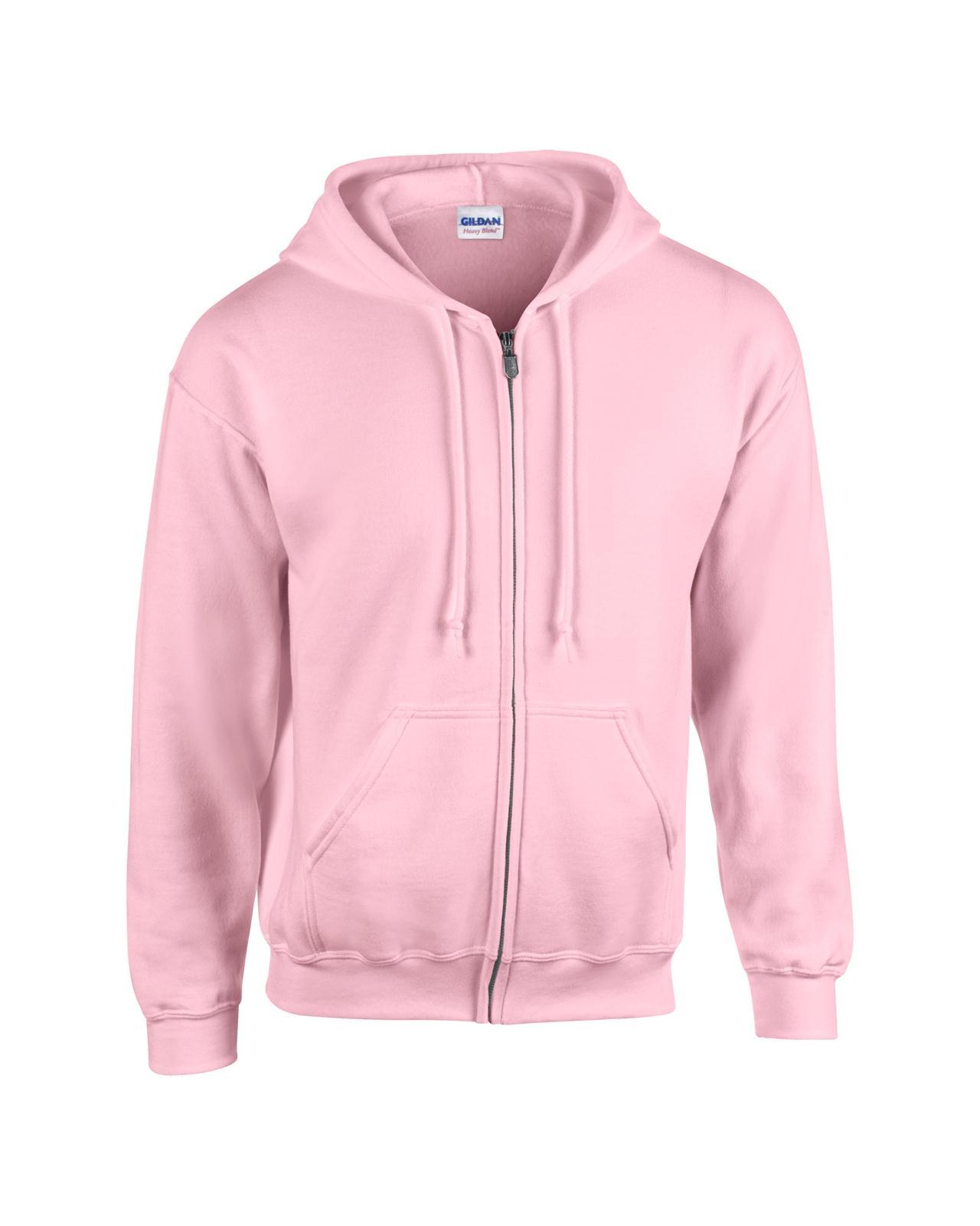 Gildan Childrens Kids Heavy Zip up Hoodie Sweatshirt in 8 Colours ...