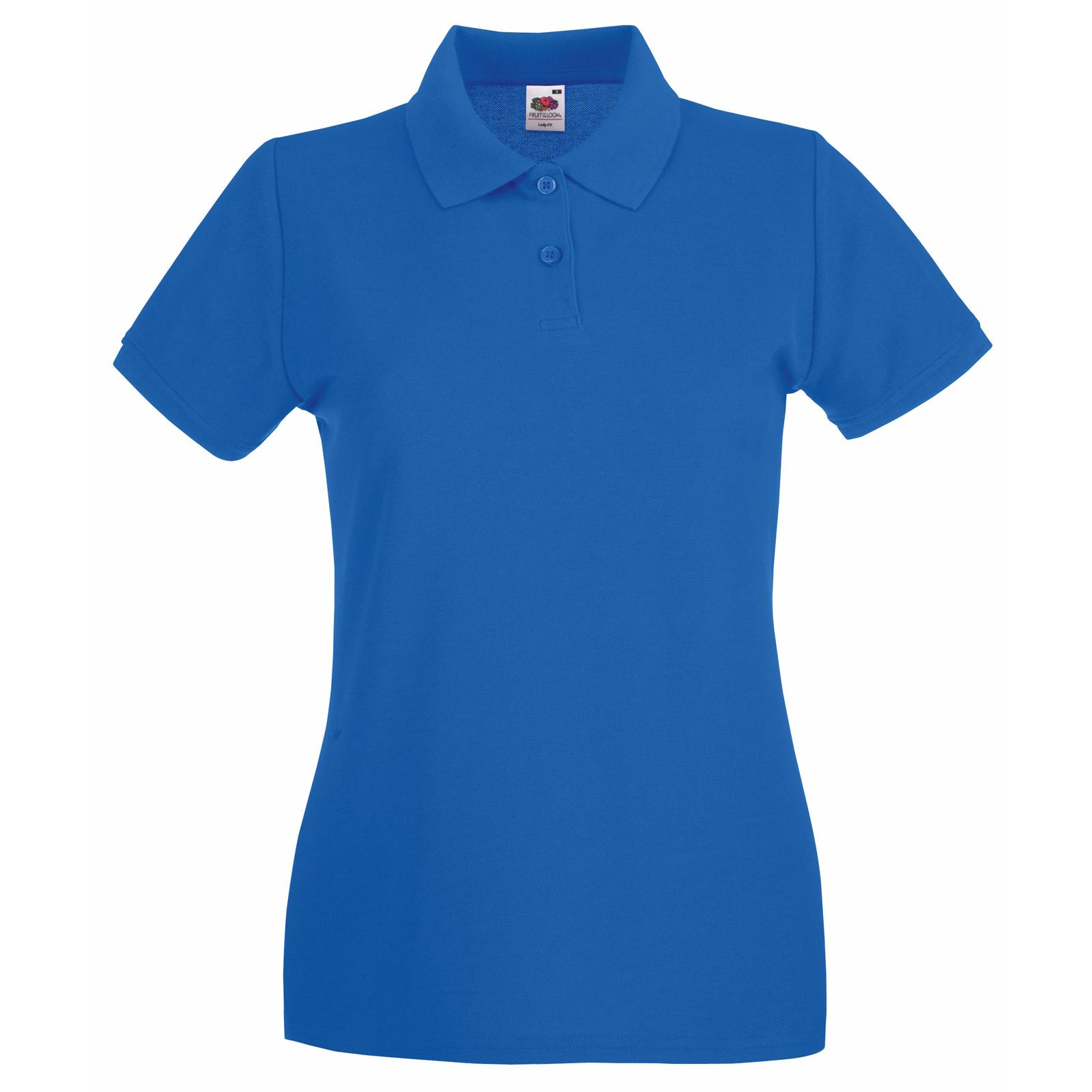 New Fruit of the Loom Womens Lady Fit Premium Polo Shirt 11 Colours ... ebc9ec389