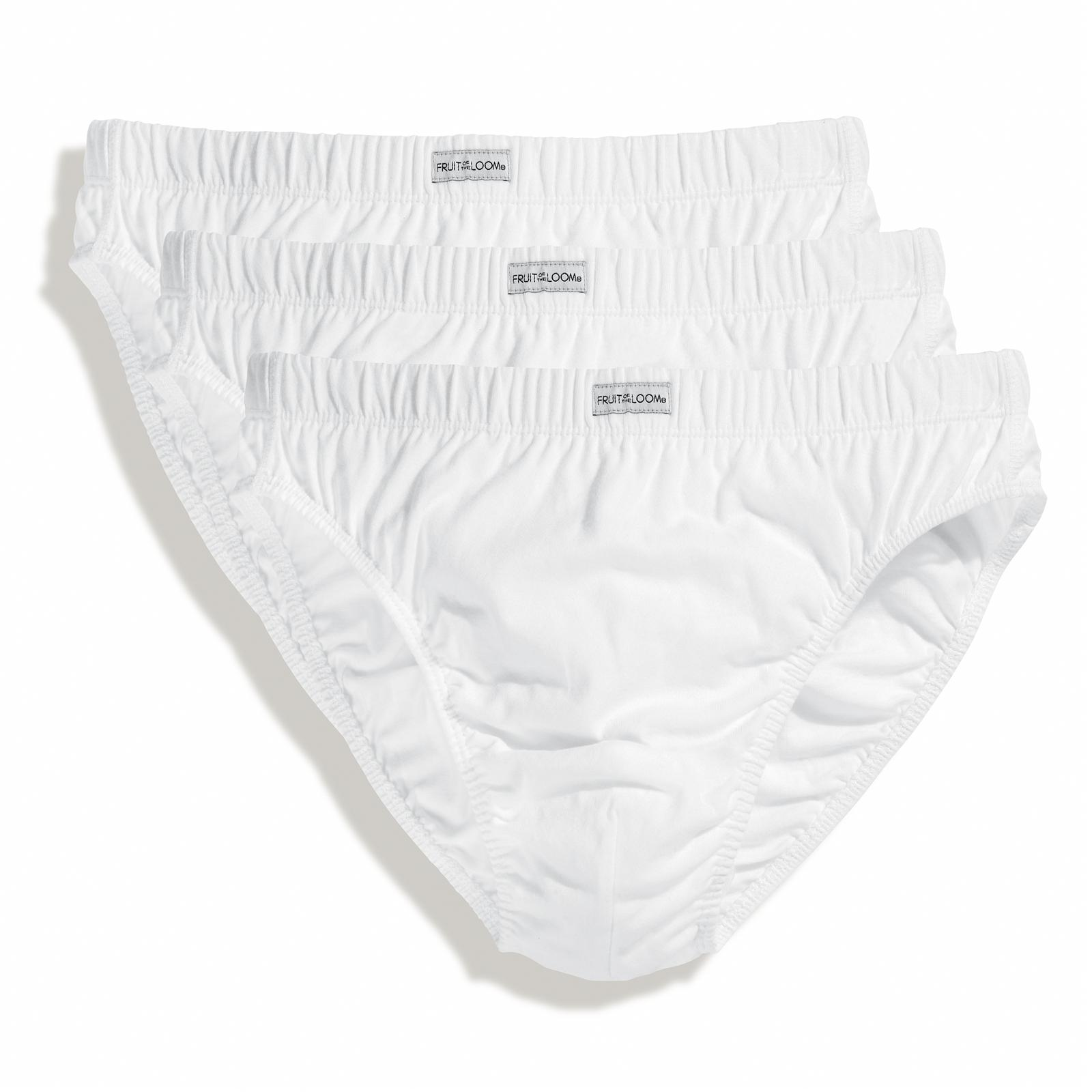 73e5fb79518f New Fruit of the Loom Mens Classic Cotton Slip Underwear 3 Pack 4 ...