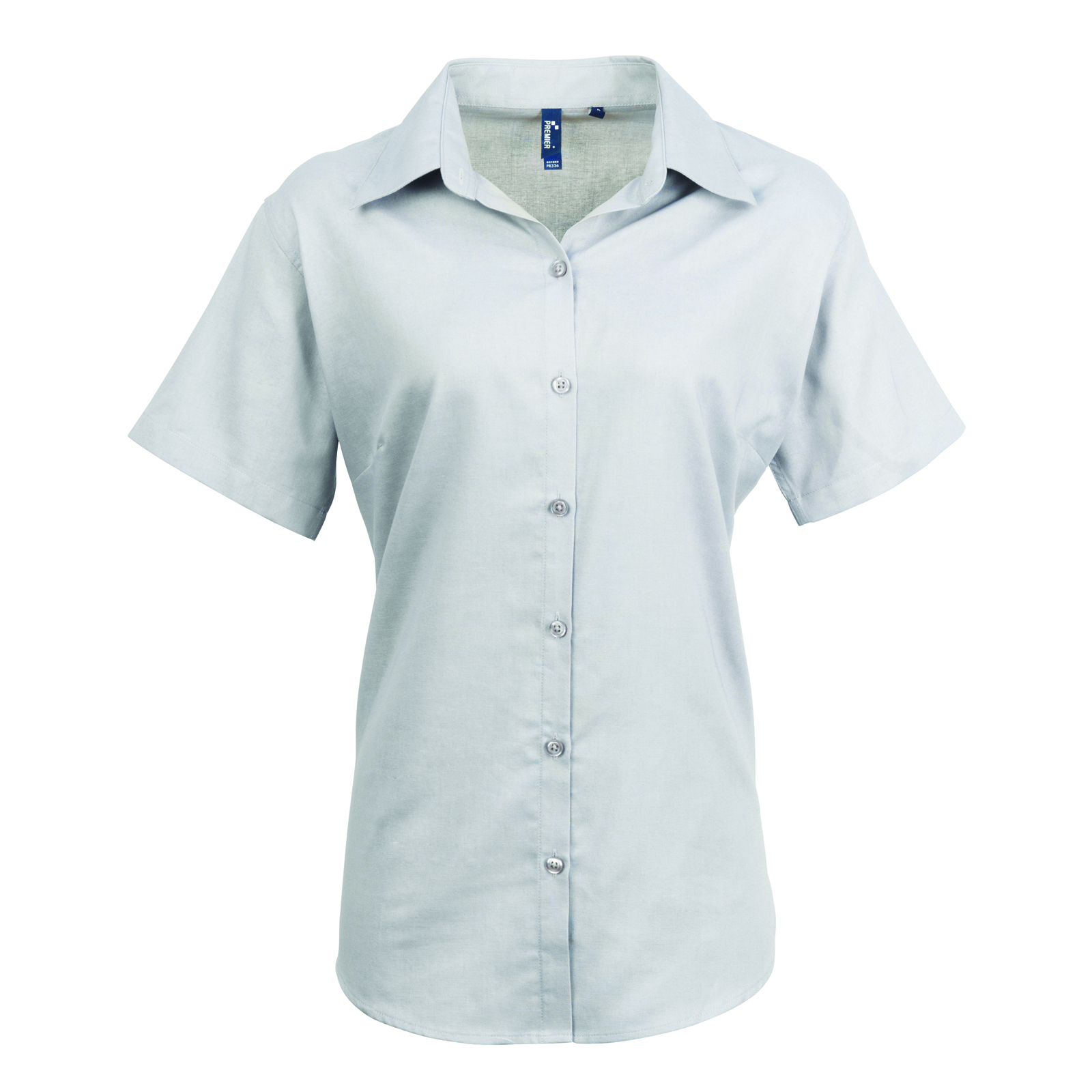 New premier womens smart oxford ladies short sleeve for Girls shirts size 8
