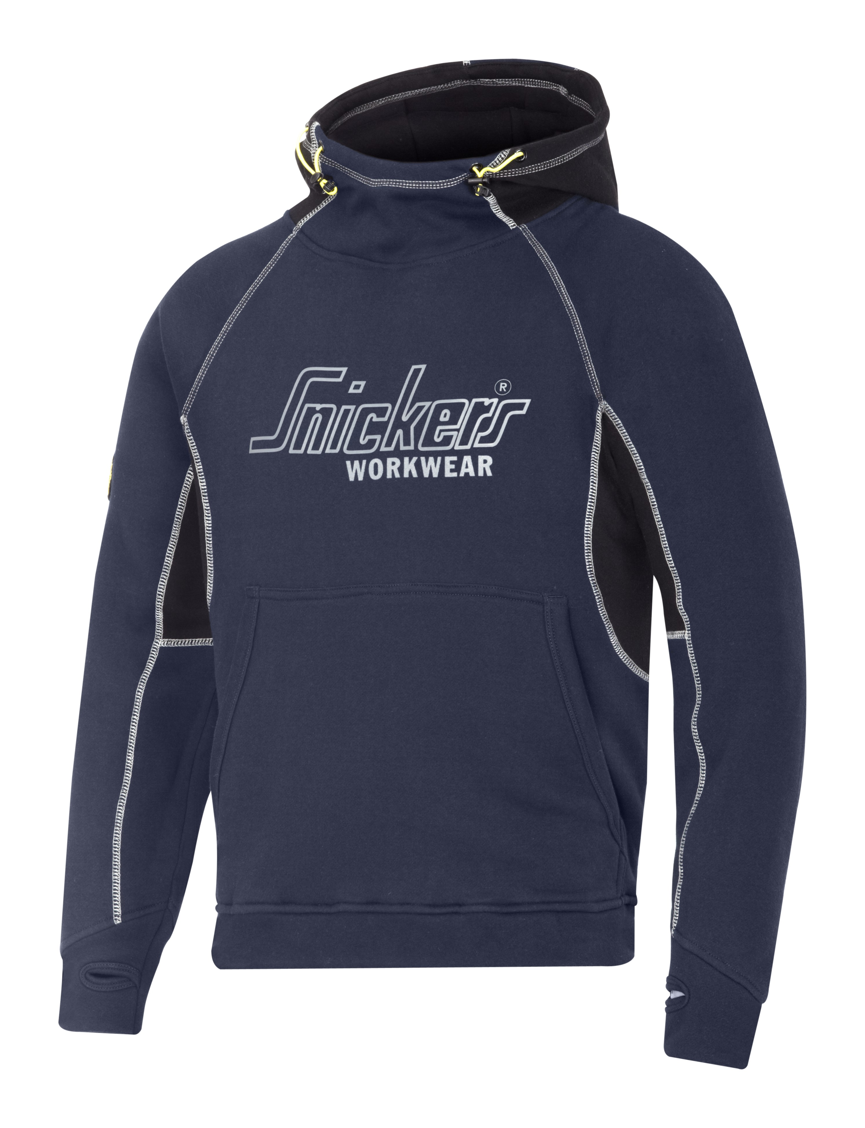 New-Mens-Snickers-Workwear-Logo-Hoodie-Long-Sleeved-Hooded-Sweaters-Size-S-XXL