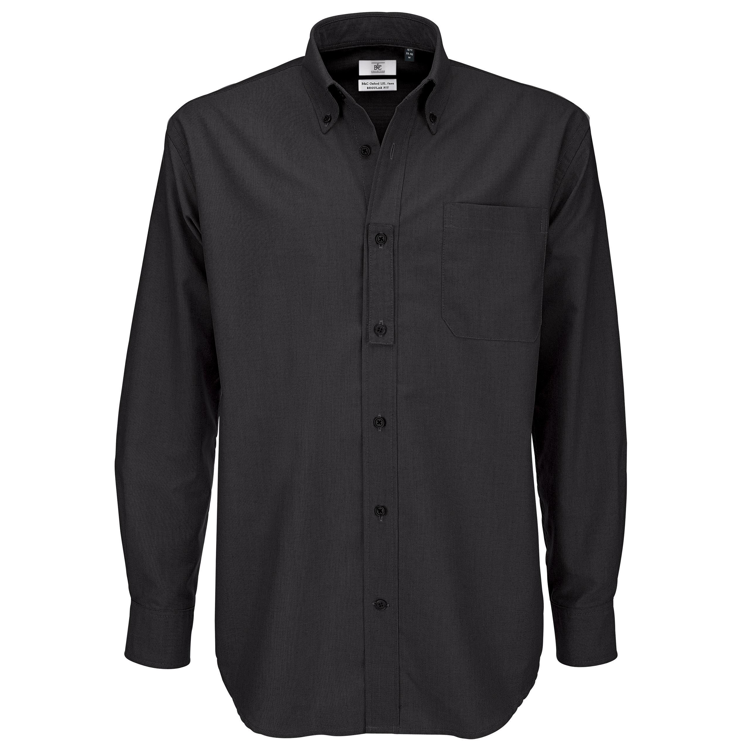 Men B C Collection Button Down Collar Long Sleeve Formal
