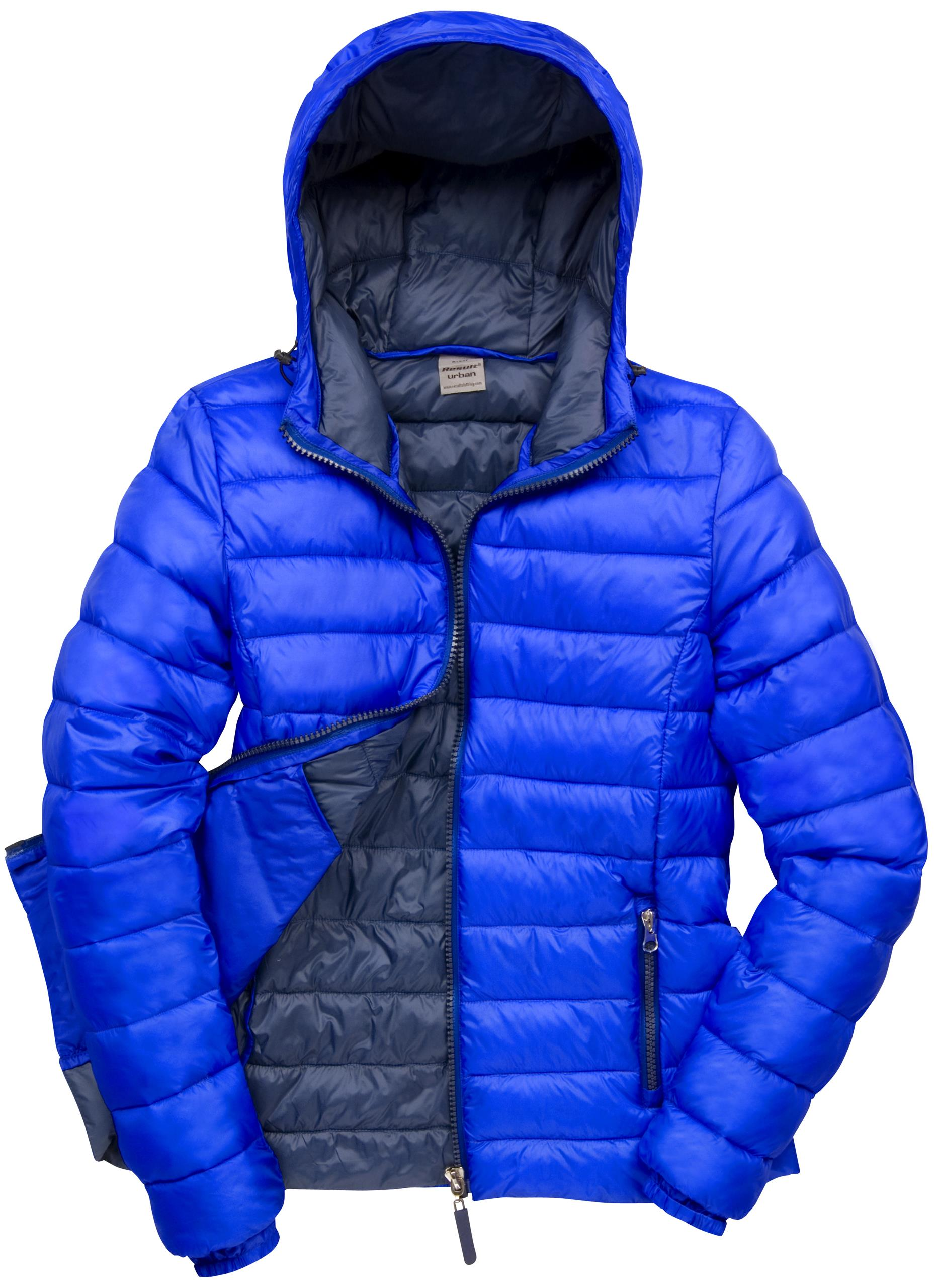 Quilted puffer jacket women