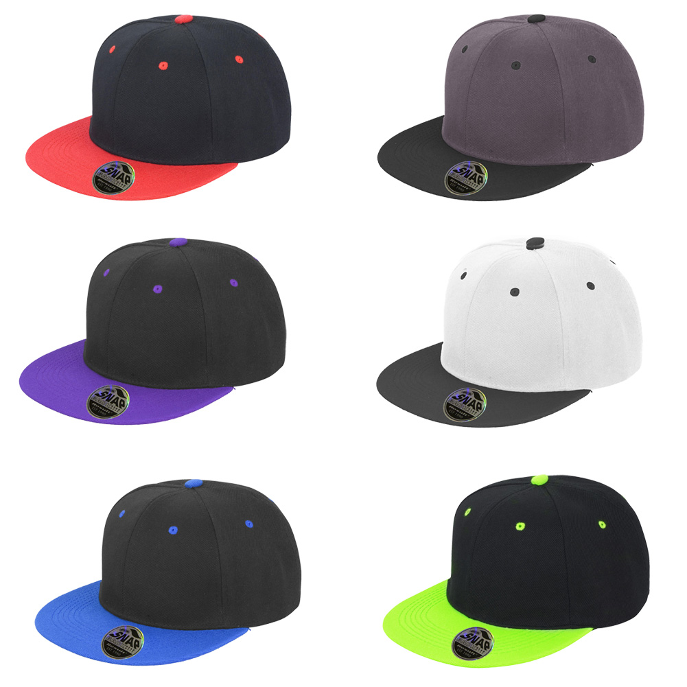 26d0f44c663 Details about Mens Result Core Original Flat Peak-Snapback Adjuster  Collectable Caps One Size