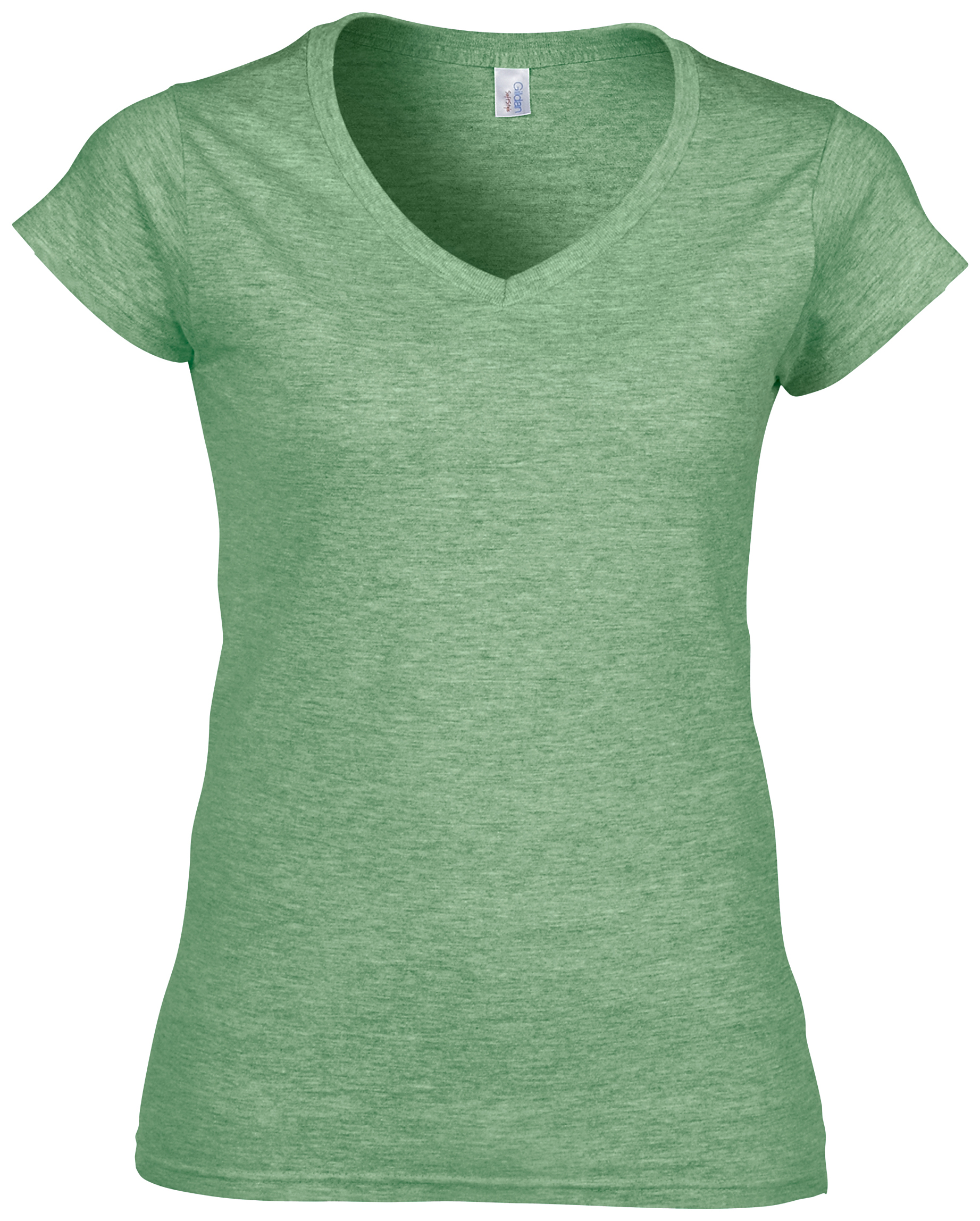 Gildan Softstyle® Women/'s V-Neck T-Shirt Casual Plain Blank T Cotton Jersey Tee