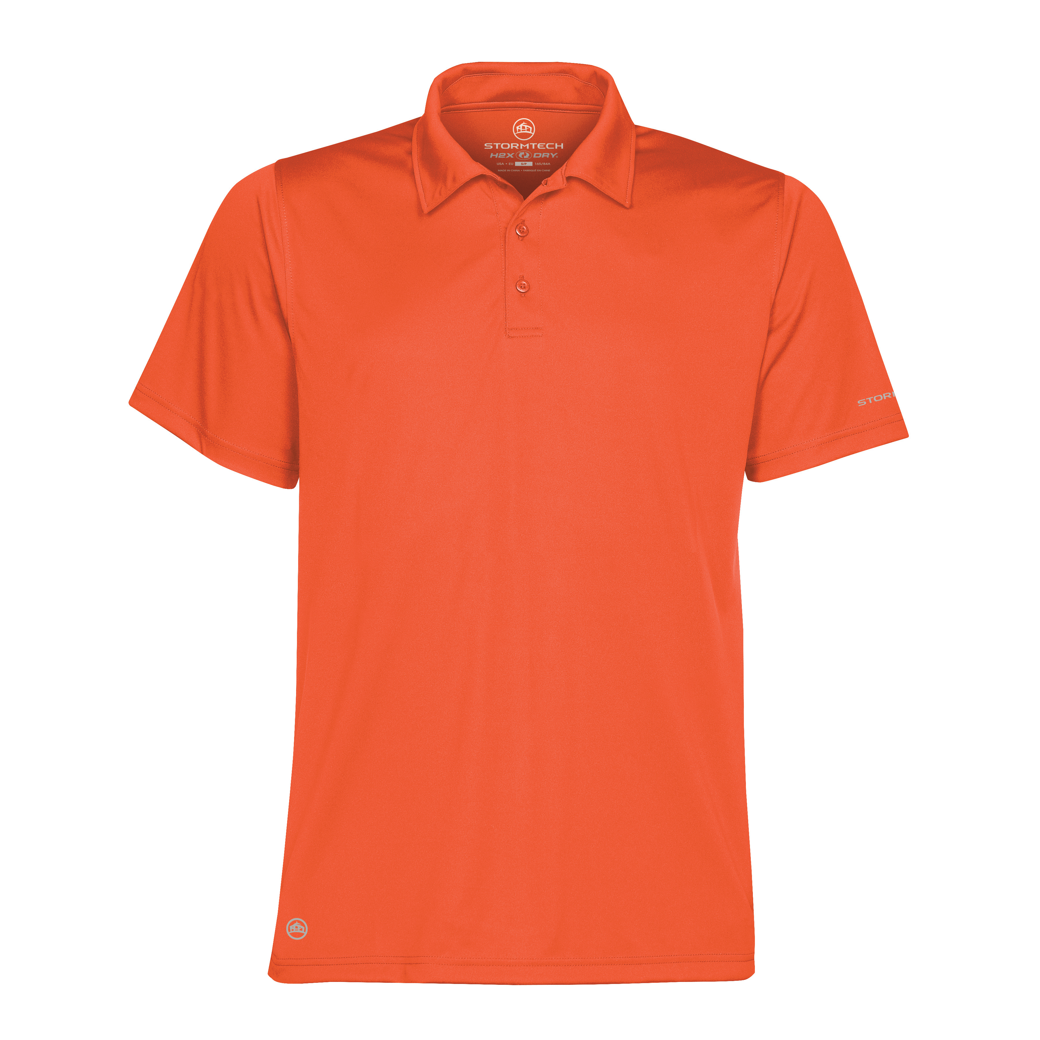 Activewear Tops New Mens Stormtech Sports Performance Short Sleeve Fabric Polo Tshirt Size S-2xl