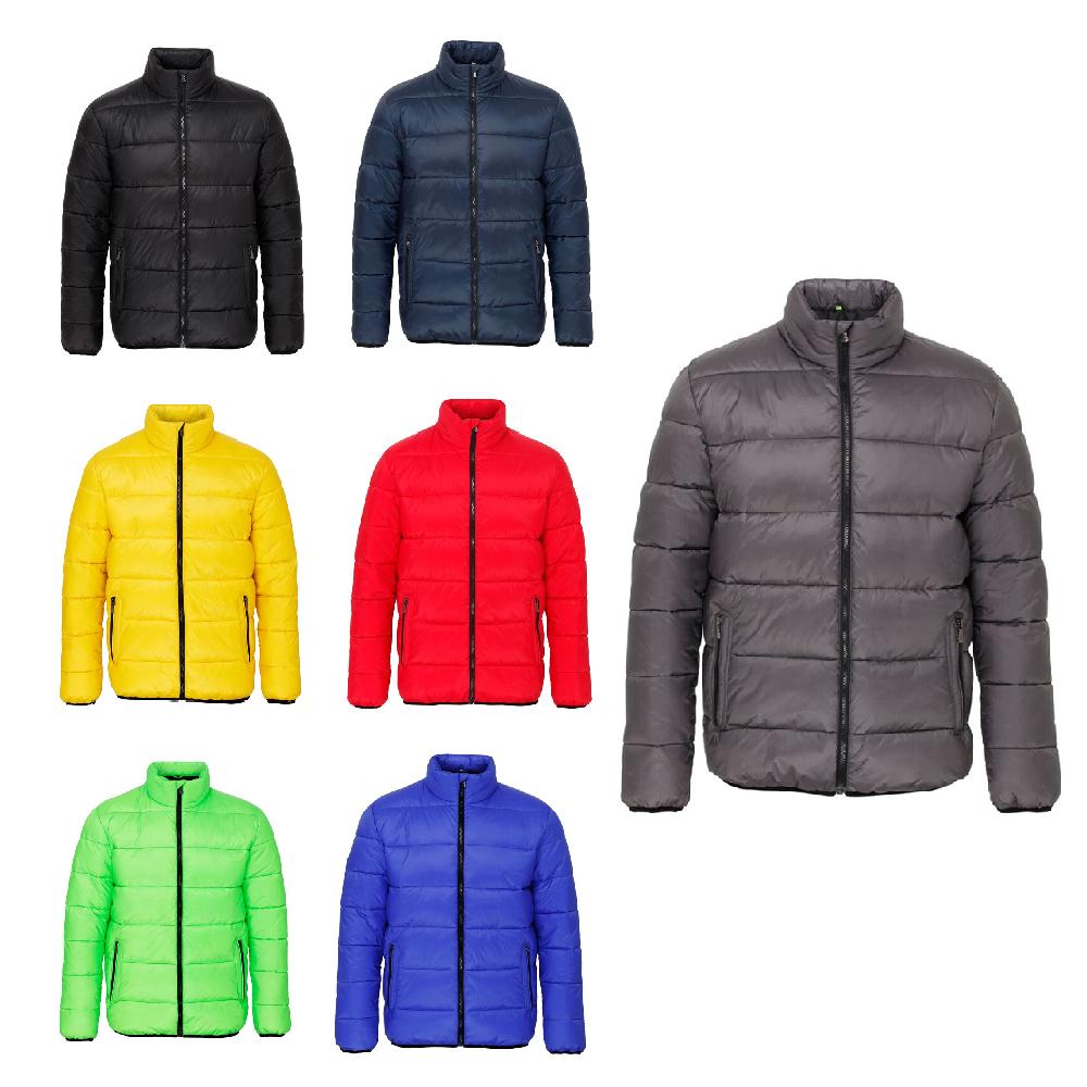 2XL Mens Womens Venture Supersoft Showerproof Padded Zip Up Jacket Coat XS