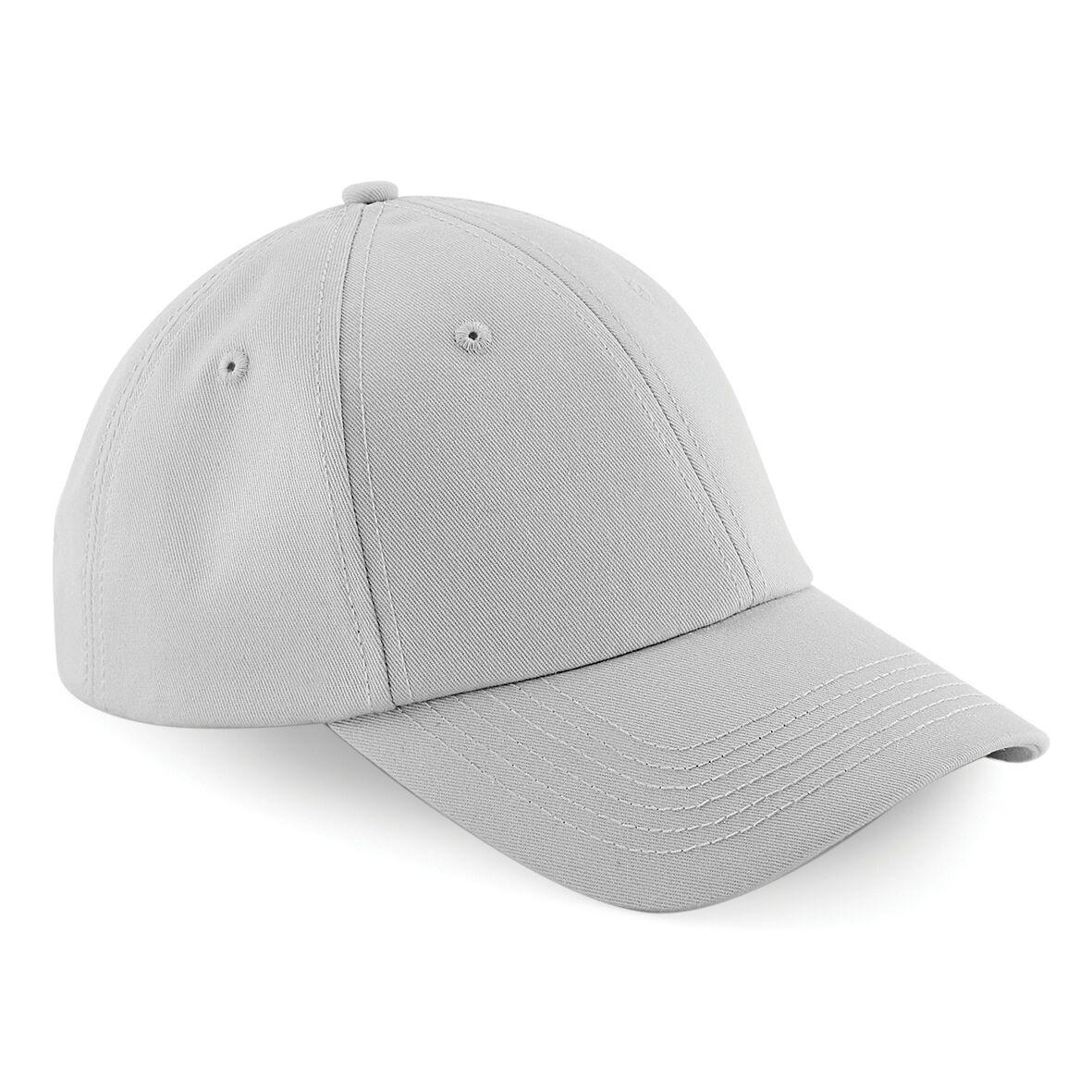 Unisex Beechfield Cotton Twill Tri-glide Buckle Authentic Baseball Cap One Size