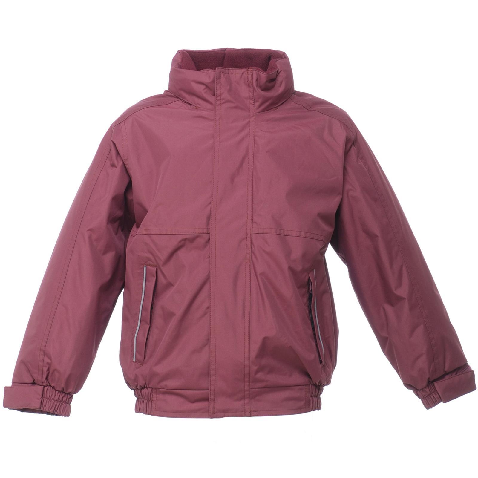 New REGATTA Childrens Kids School Dover Fleece Lined Jacket 6 Colours 8 Sizes