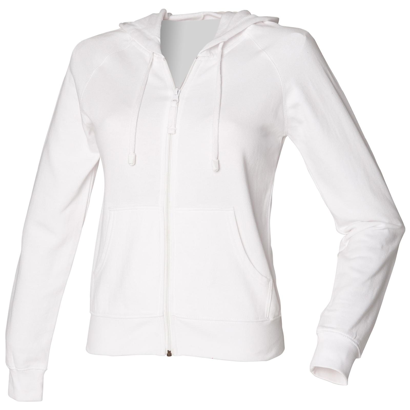 c091f9fae New SKINNI FIT Womens Ladies Cotton Zip Up Hoodie Jacket in 9 ...
