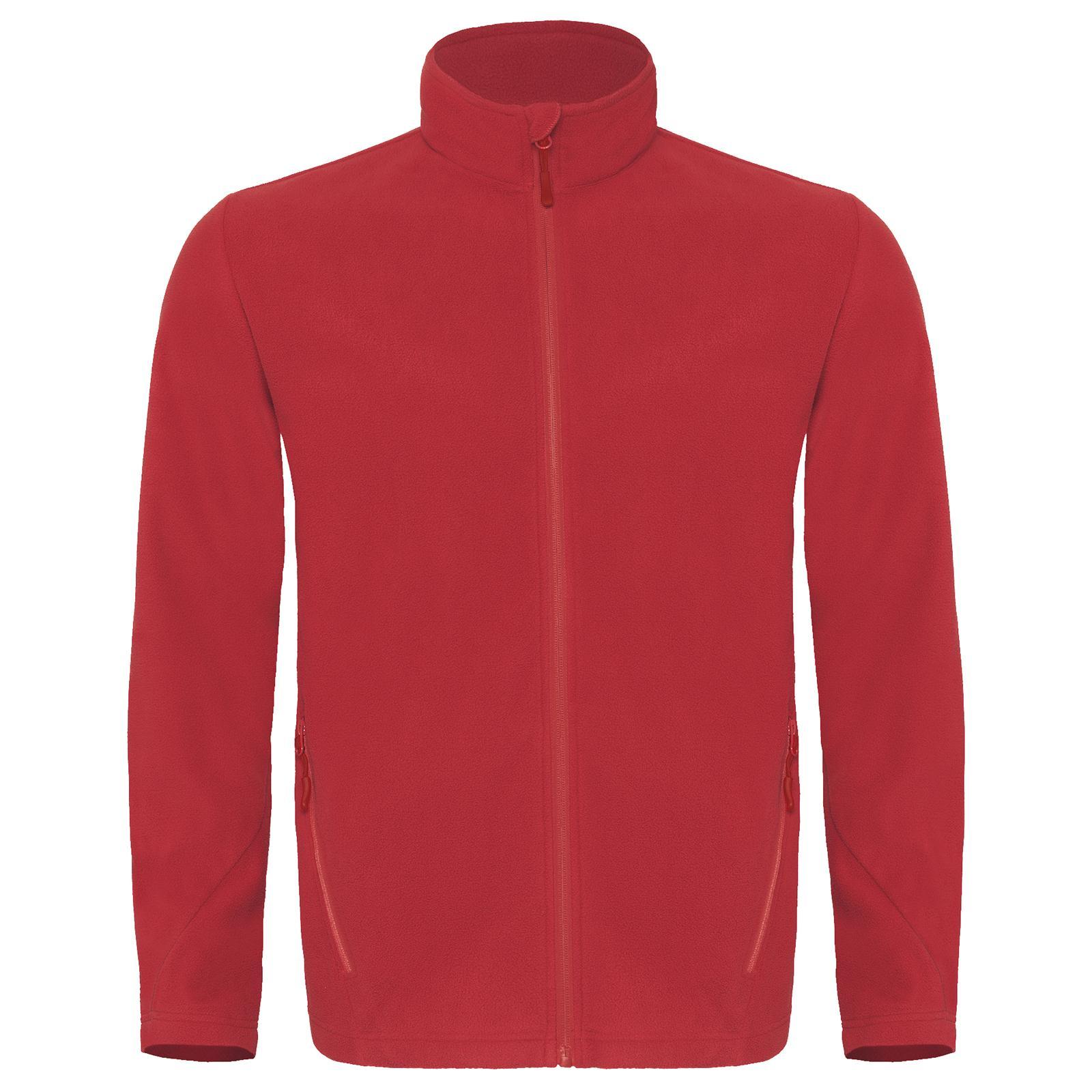 New B&C Mens Coolstar Full Zip Soft Micro Fleece Jacket in 4 ...