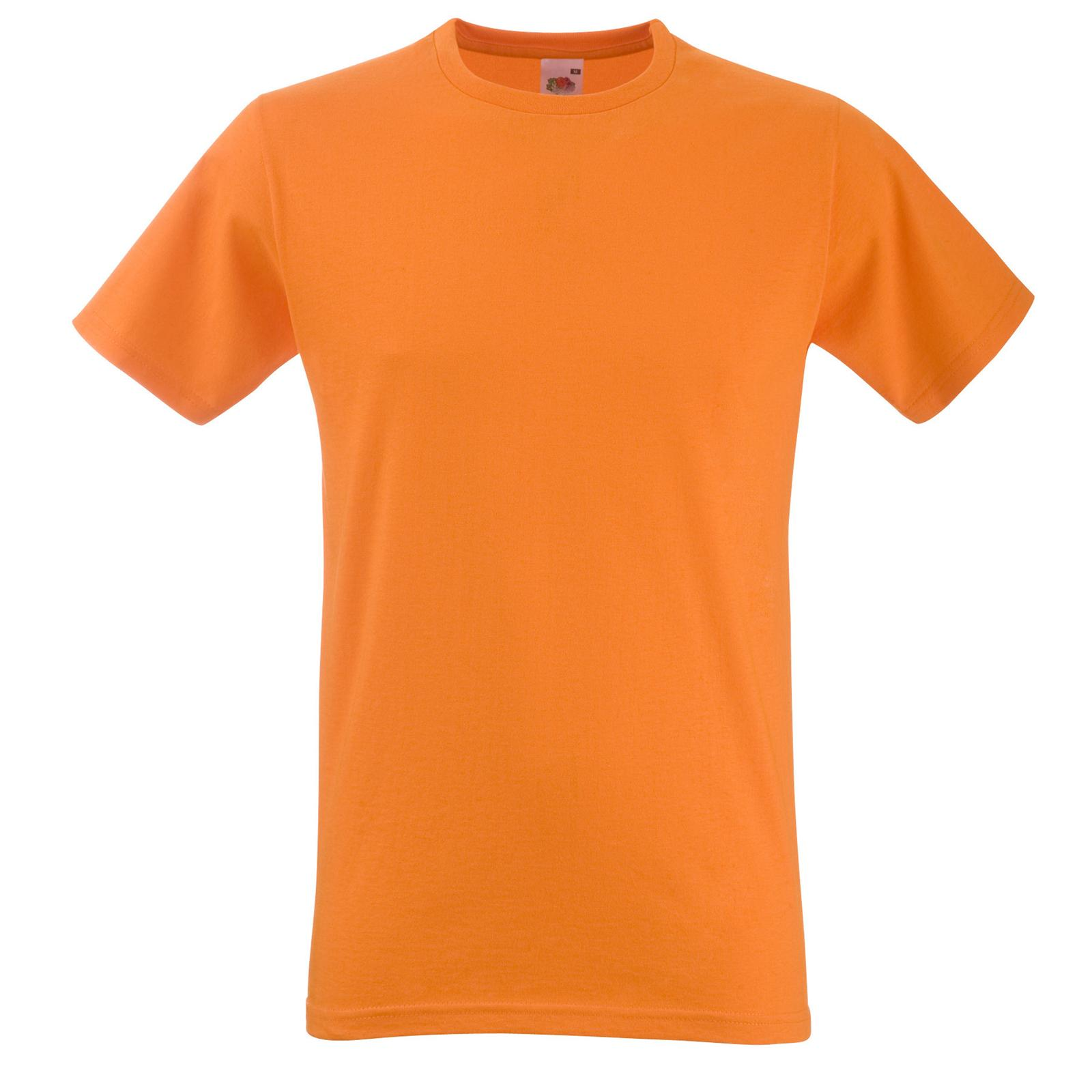 e561c1d2237 New Fruit of the Loom Mens Fitted Cotton Valueweight T Shirt in 9 ...