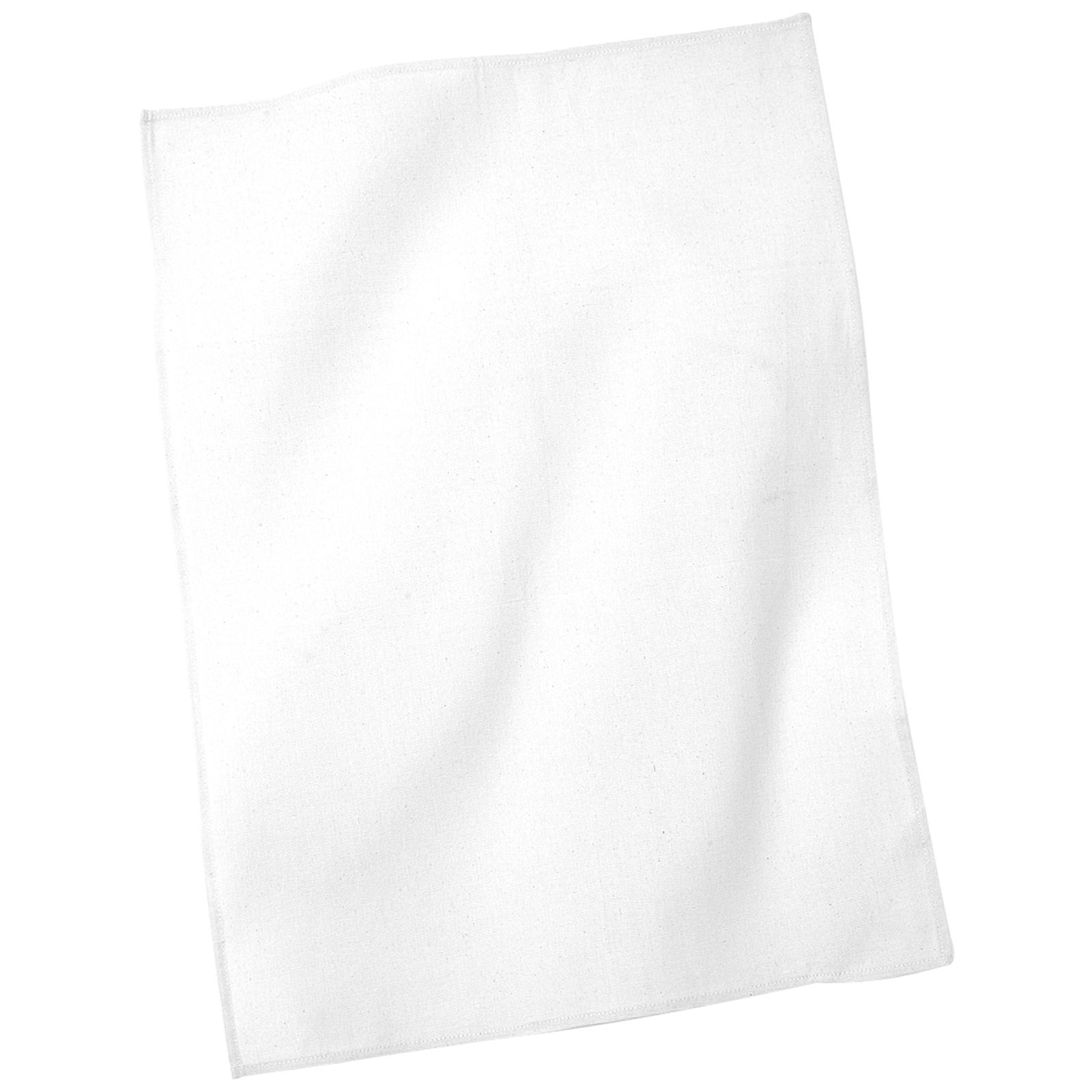 White Kitchen Towel: New WESTFORD MILL Cotton Tea Towel In Natural White 50x70