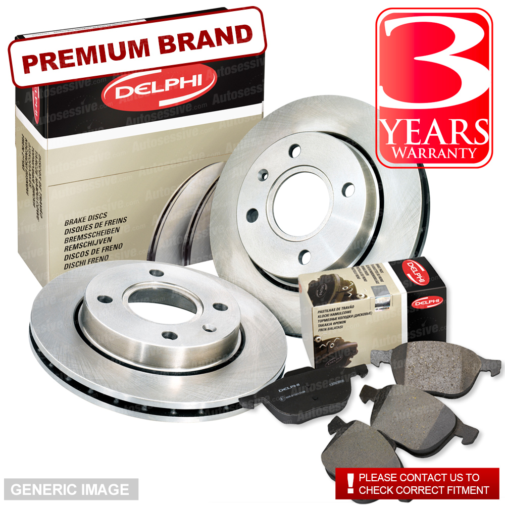 FORD TRANSIT MK7 2.2 FWD FRONT BRAKE DISCS AND PADS 2006 TO 2014 PREMIUM QUALITY