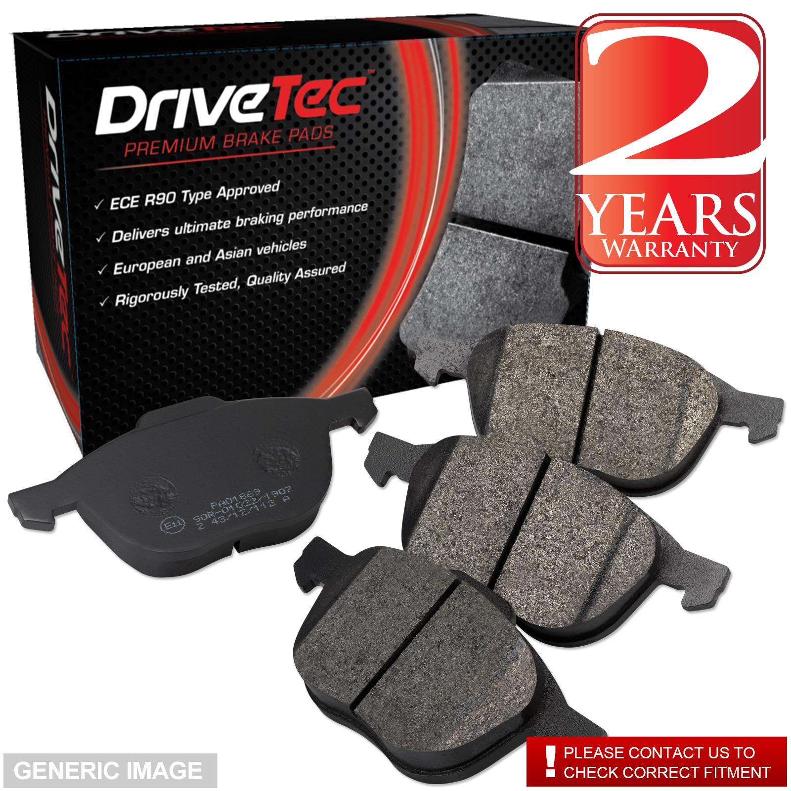 Front Drivetec Brake Pads Chevrolet Aveo 1.2 1.2 LPG 1.4 1.4 Turbo