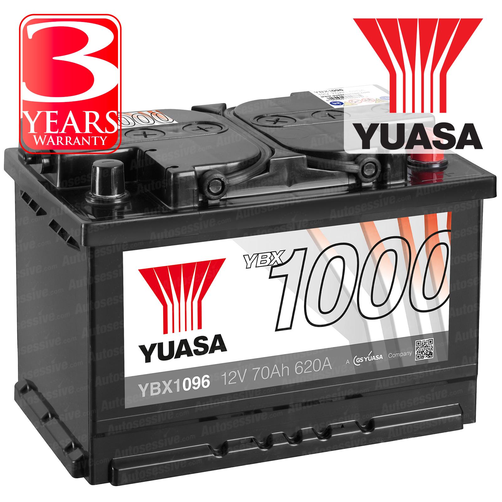 Yuasa Car Battery Calcium 12v 620cca 70ah T1 For Vw Transporter T5 1 9 Tdi Pd
