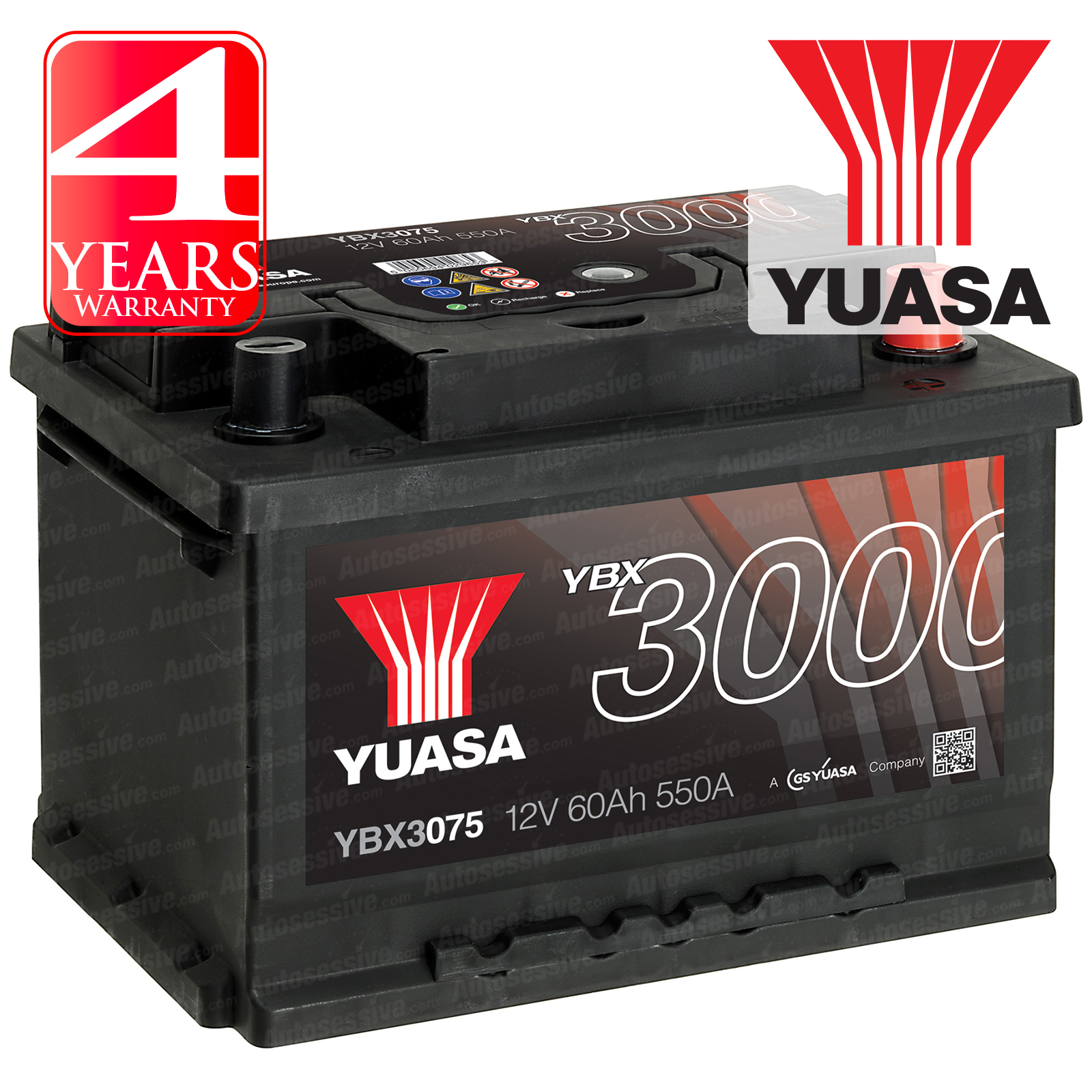 Yuasa Car Battery Calcium 12v 550cca 60ah T1 For Mercedes Slk230 Kompressor Fuse Diagram R170 23
