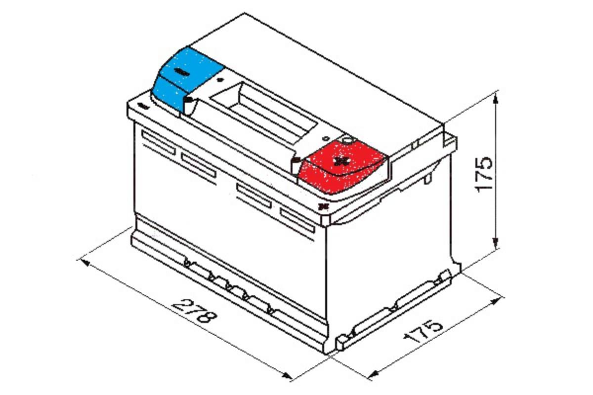 Yuasa Ybx3096 Car Battery Calcium Black Case Smf Soci 12v 650cca Diagram Of A 75ah T1