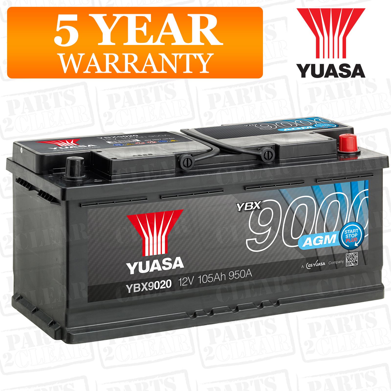 Genuine Volvo 12v 950A 105Ah Battery