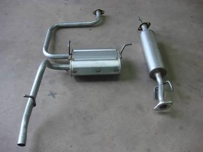 Daewoo Matiz Centre & Rear Exhaust Bo 800cc 00-05 Spare ...