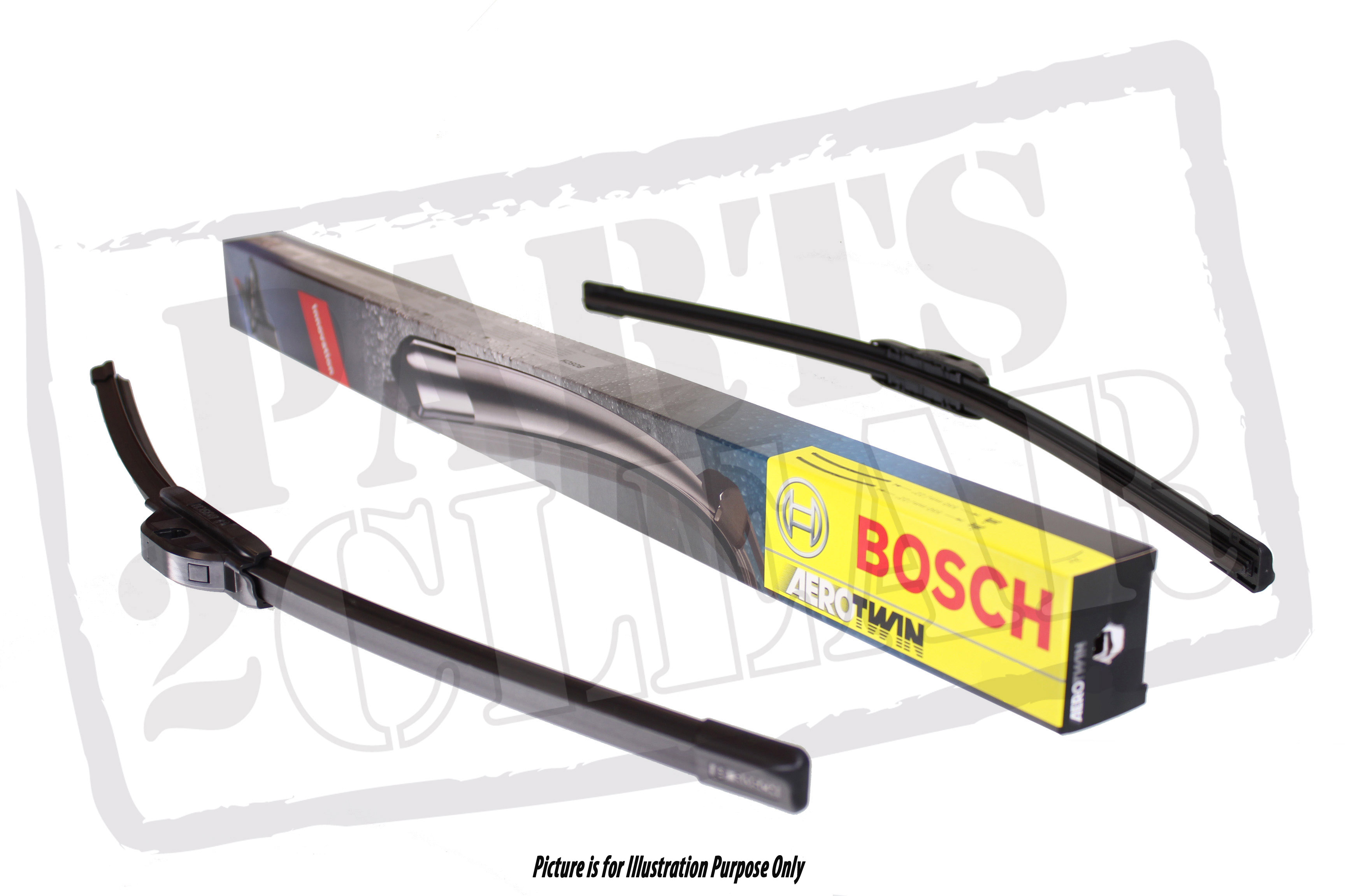 Vauxhall Astra J Front Bosch Aerotwin Flat Wiper Blades Windscreen