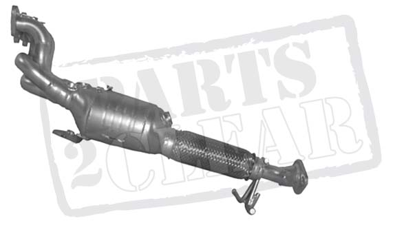 Ford Focus 16 Tivct Catalytic Converter Exhaust 16v 115 Maniverter 0904: 2008 Ford Focus Catalytic Converter At Woreks.co