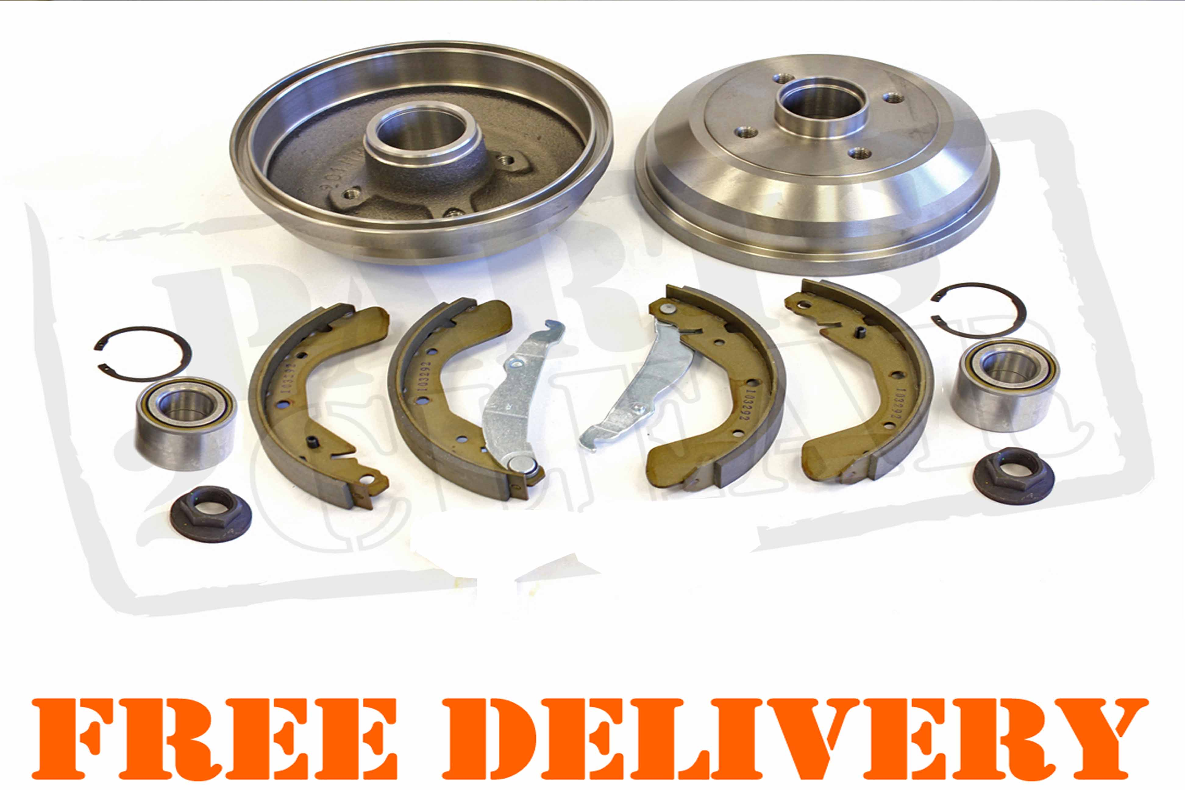 renault clio 1 2 1 4 1 6 2 0 1 5 dci rear brake drums. Black Bedroom Furniture Sets. Home Design Ideas