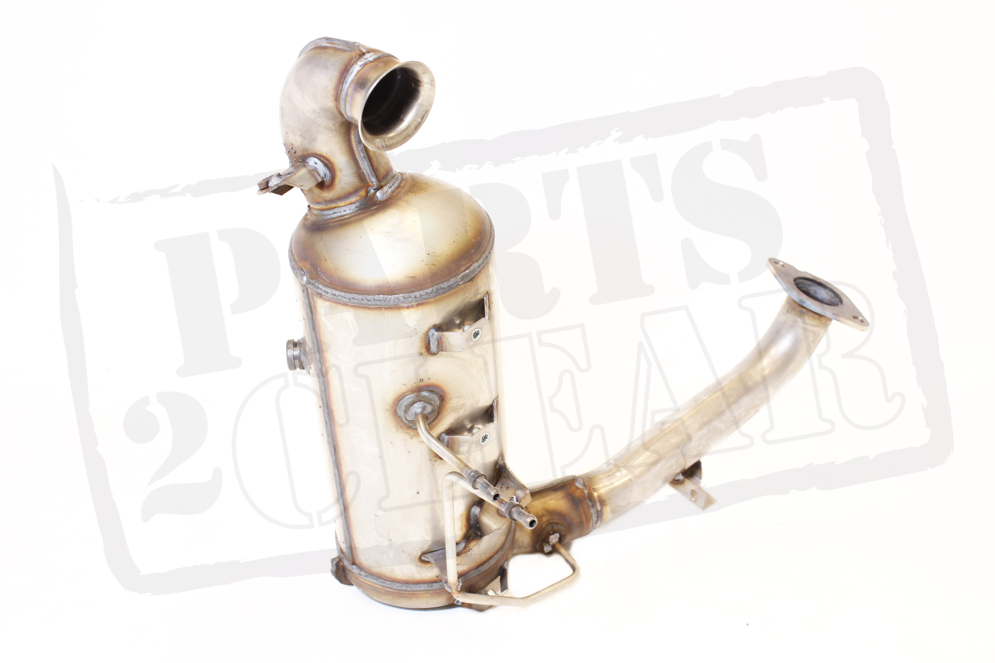 mazda 3 1.6 di cat + dpf diesel particulate filter soot oem new 1.6d