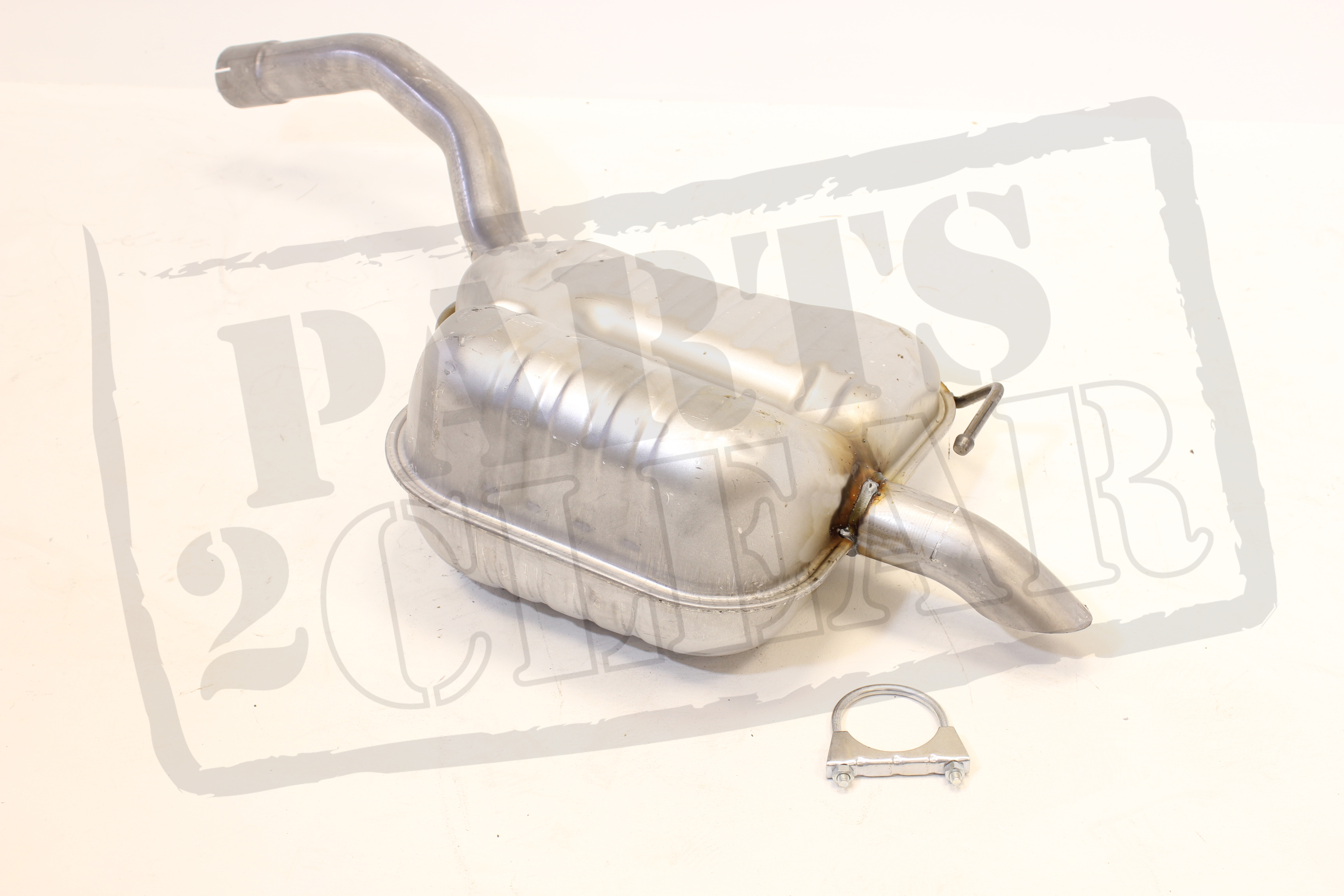 Ford S-max Smax 2.0 Tdci 140 Bhp Rear Exhaust Silencer /& Free Clamp 06-09