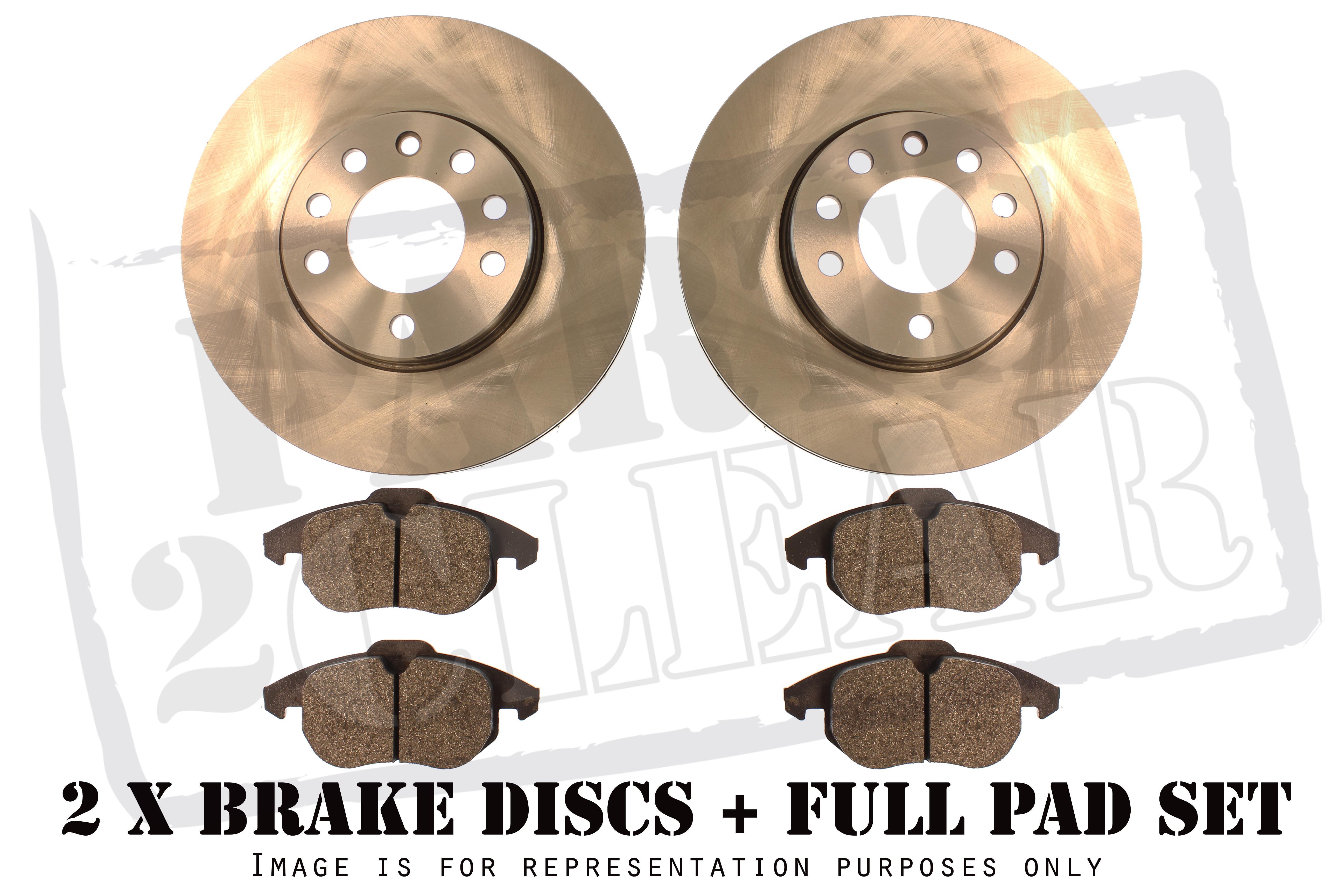 Ford Fiesta Mk6 125 14 16 Front Brake Discs Pads Set 258mm Disc System Braking Business Photo Gallery Zetec 2002