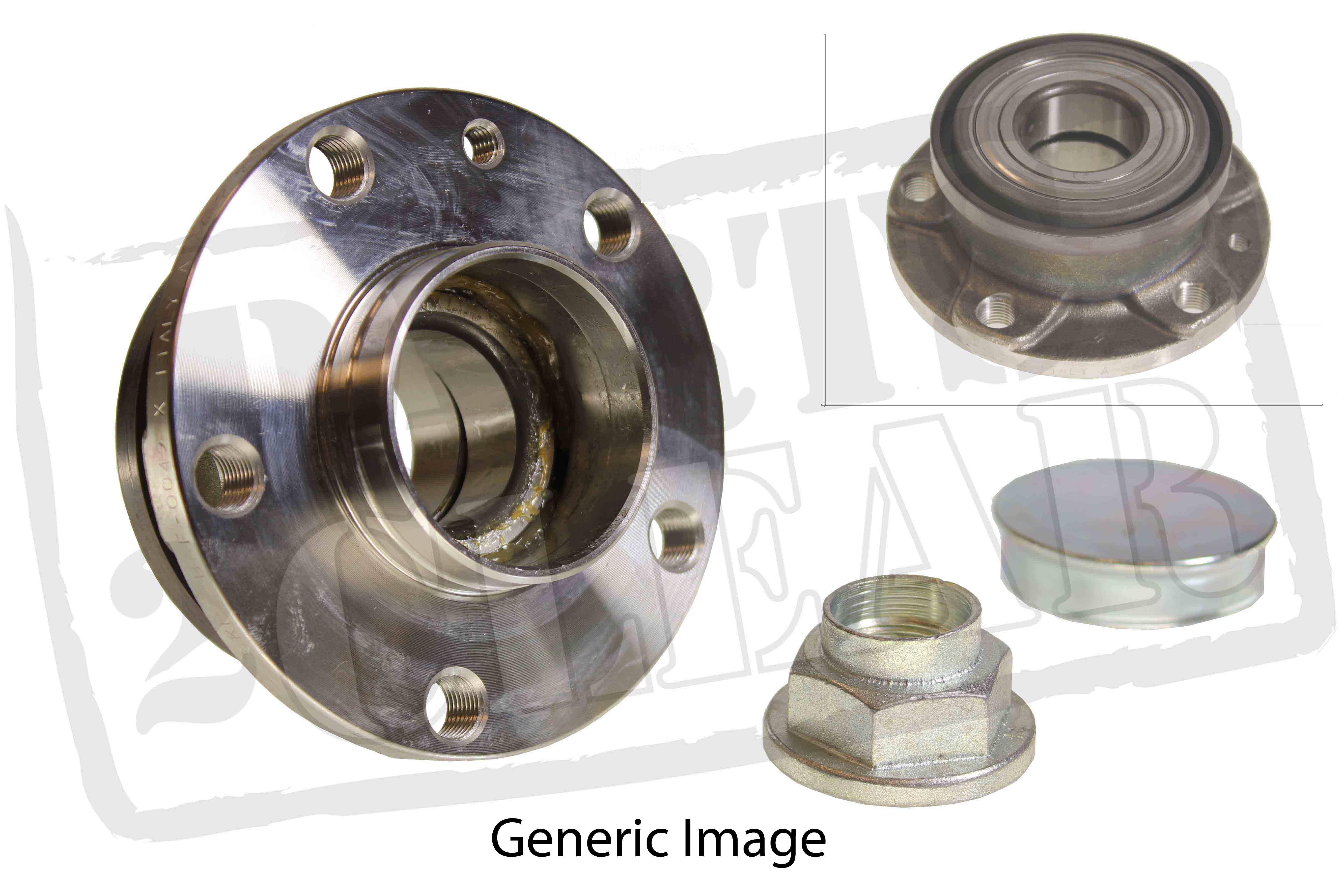 Fiat 500 1 4 Abarth Rear Wheel Bearing Hub Assembly 135