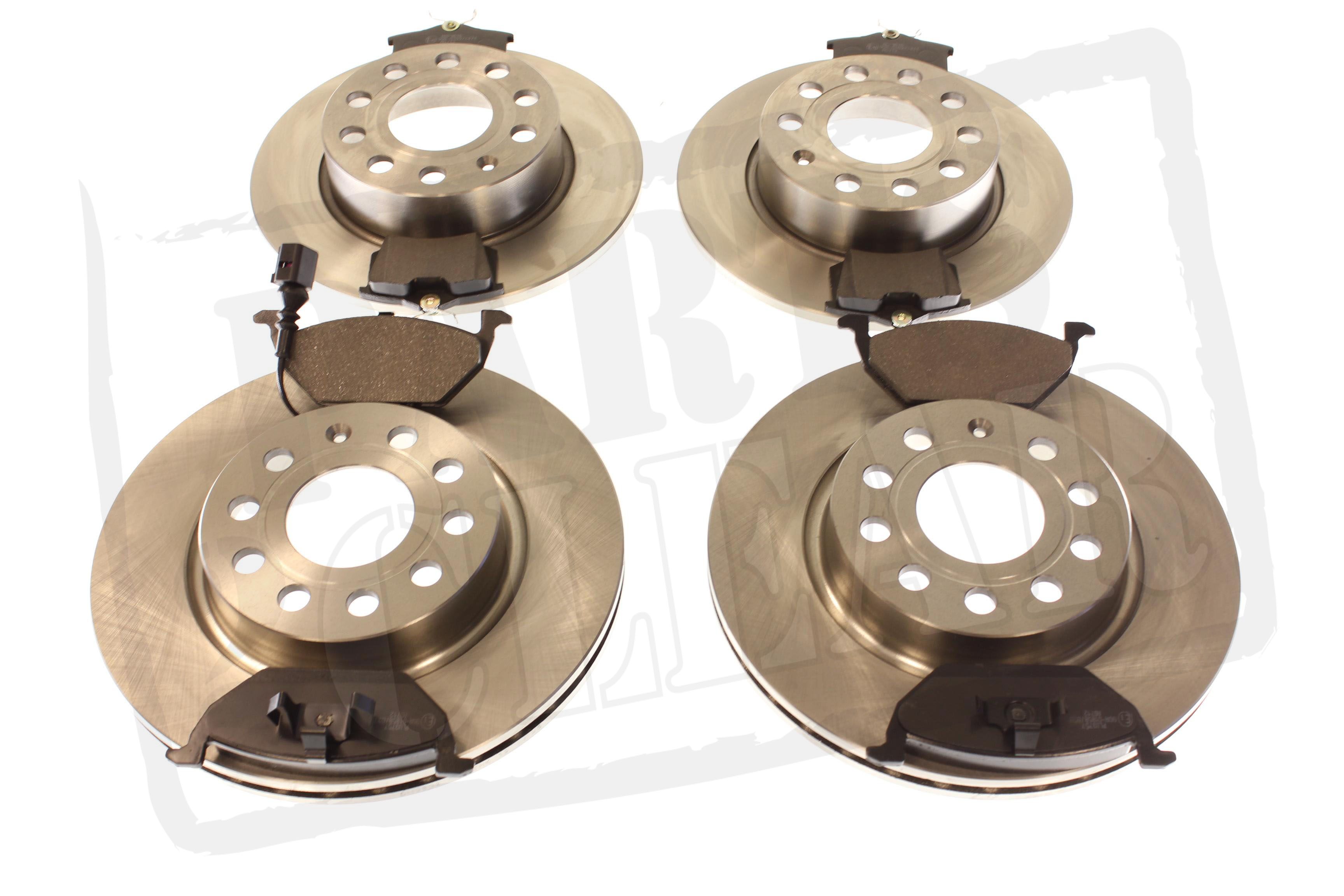 FRONT /& REAR BRAKE PADS NEW 08-15 FOR AUDI A4 SALOON B8 1.8T 2.0T FSi TDi