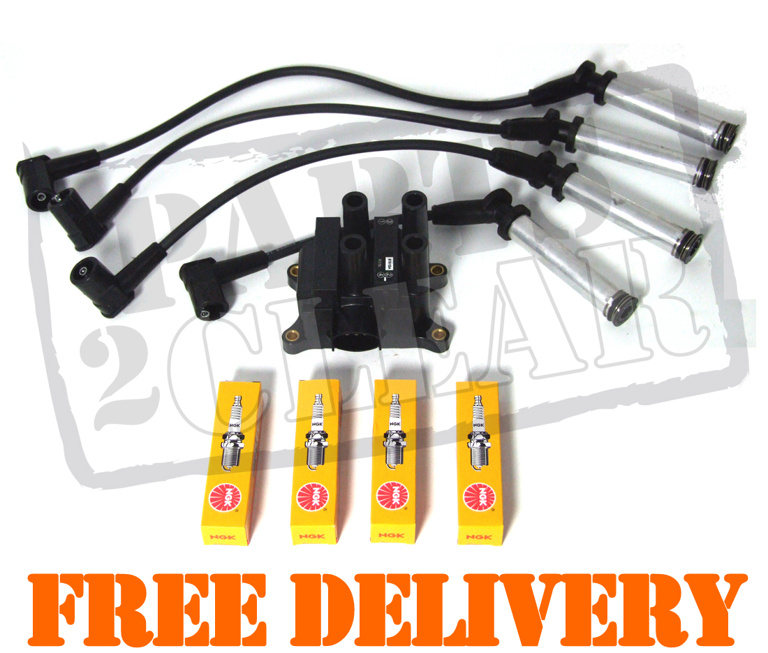 Ford Ka   Ignition Coil Pack Spark Plugs Leads